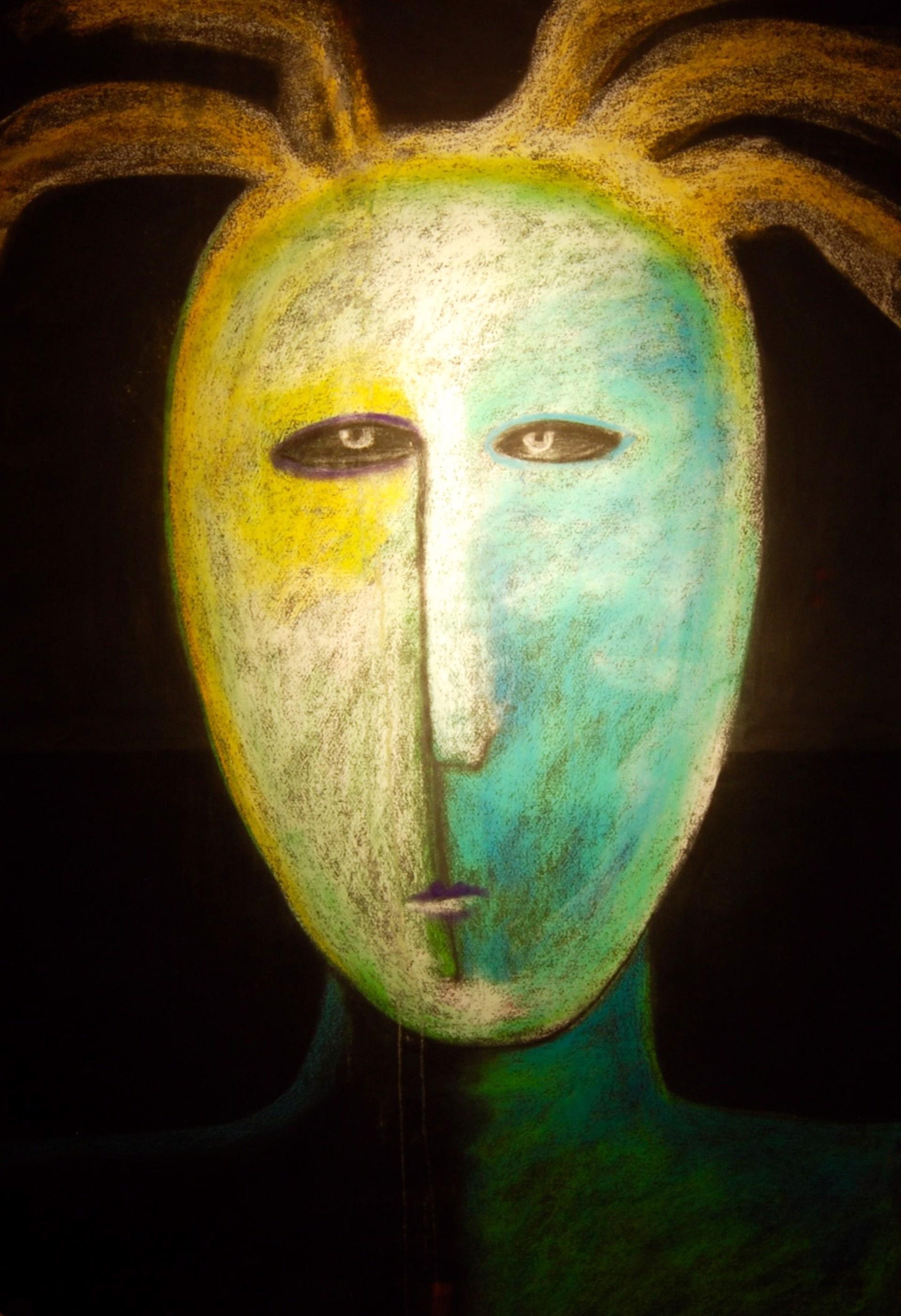 Sun Shaman - Unframed by Carole LaRoche