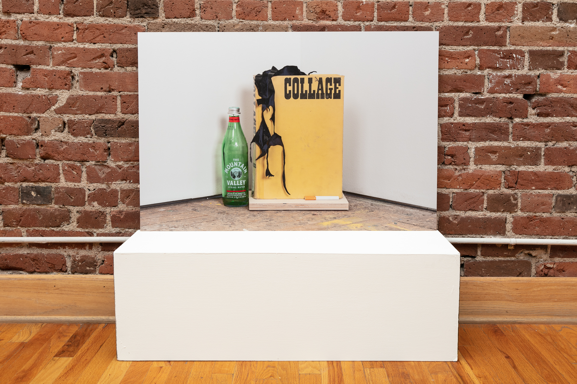 Collage Still Life by Mario Zoots