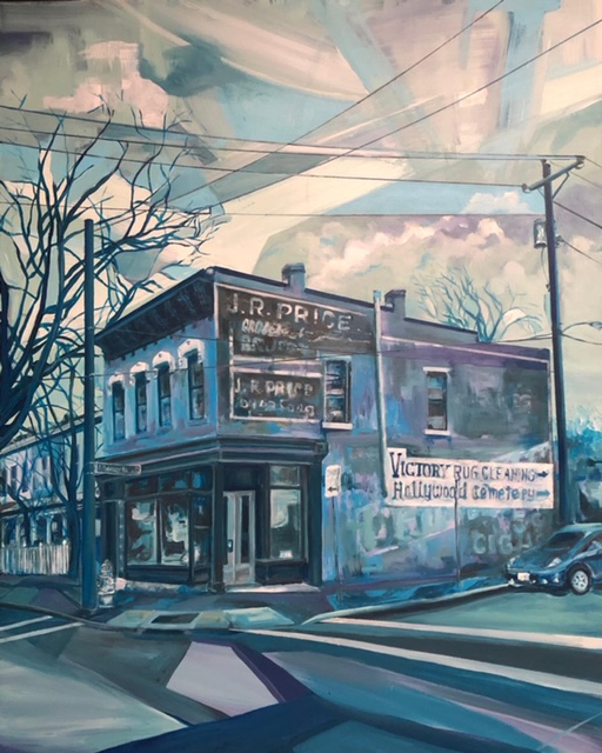 Albebarle and Laurel St by Ed Trask