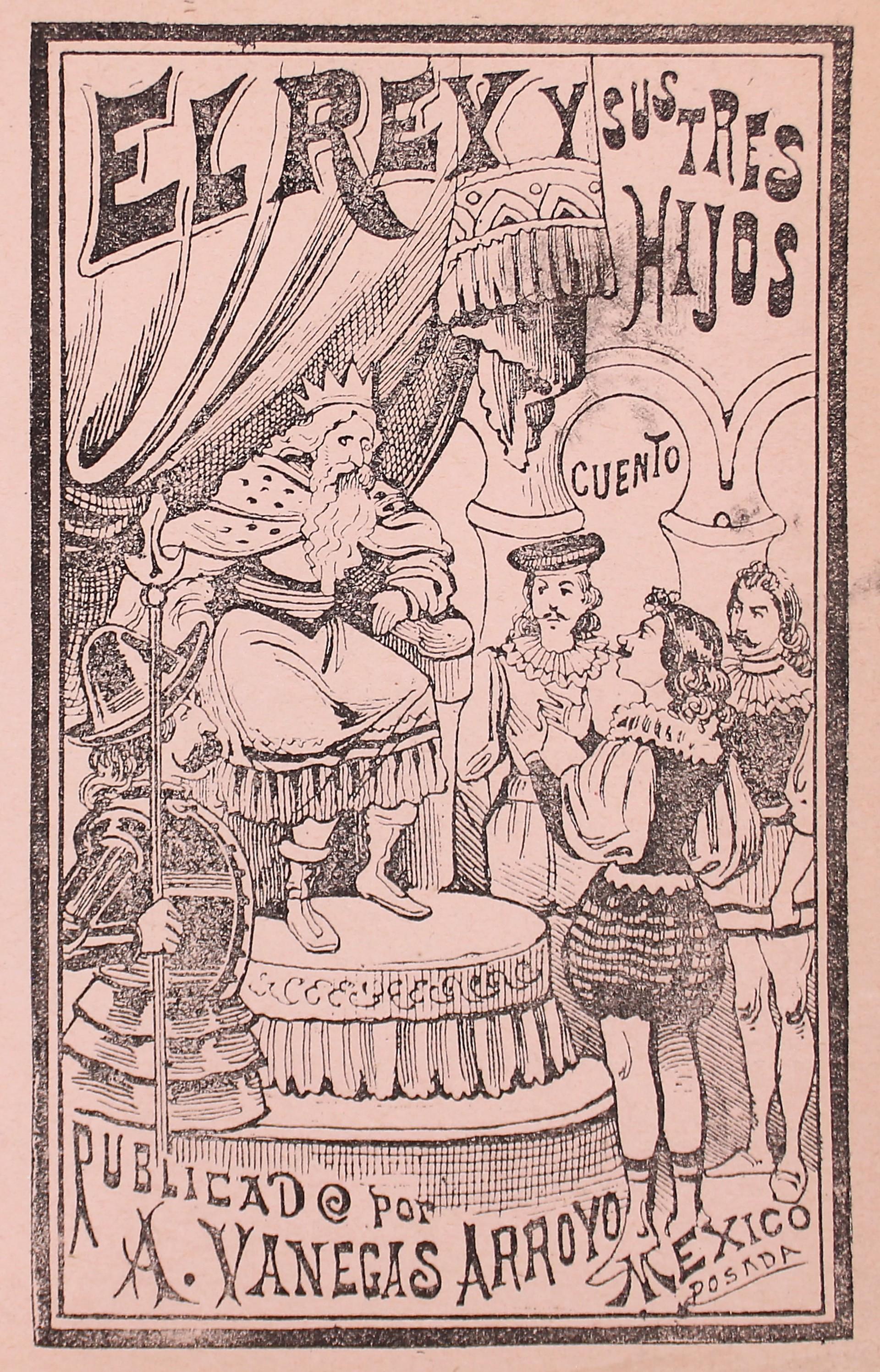El Rey y Sus Tres Hijos by José Guadalupe Posada (1852 - 1913)