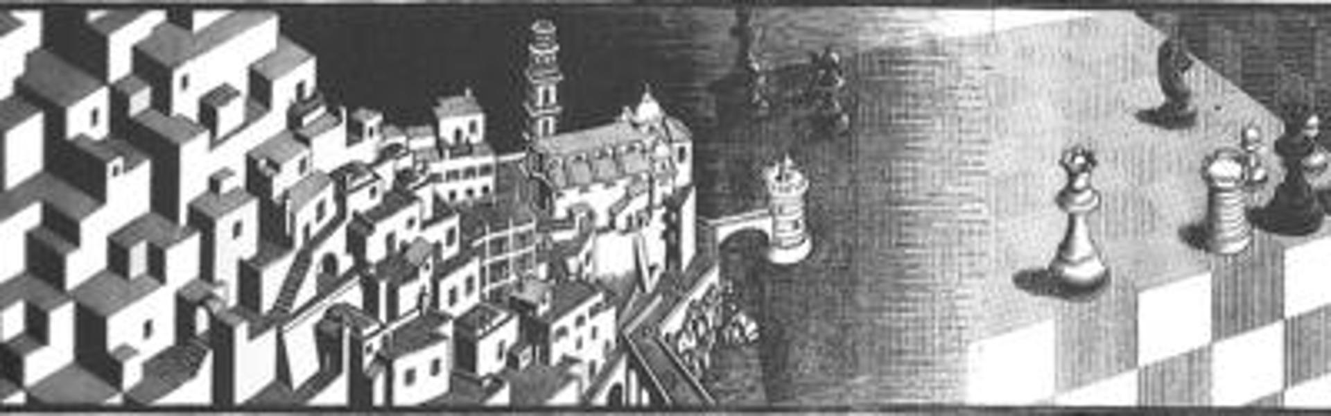 Metamorphosis II by M.C. Escher