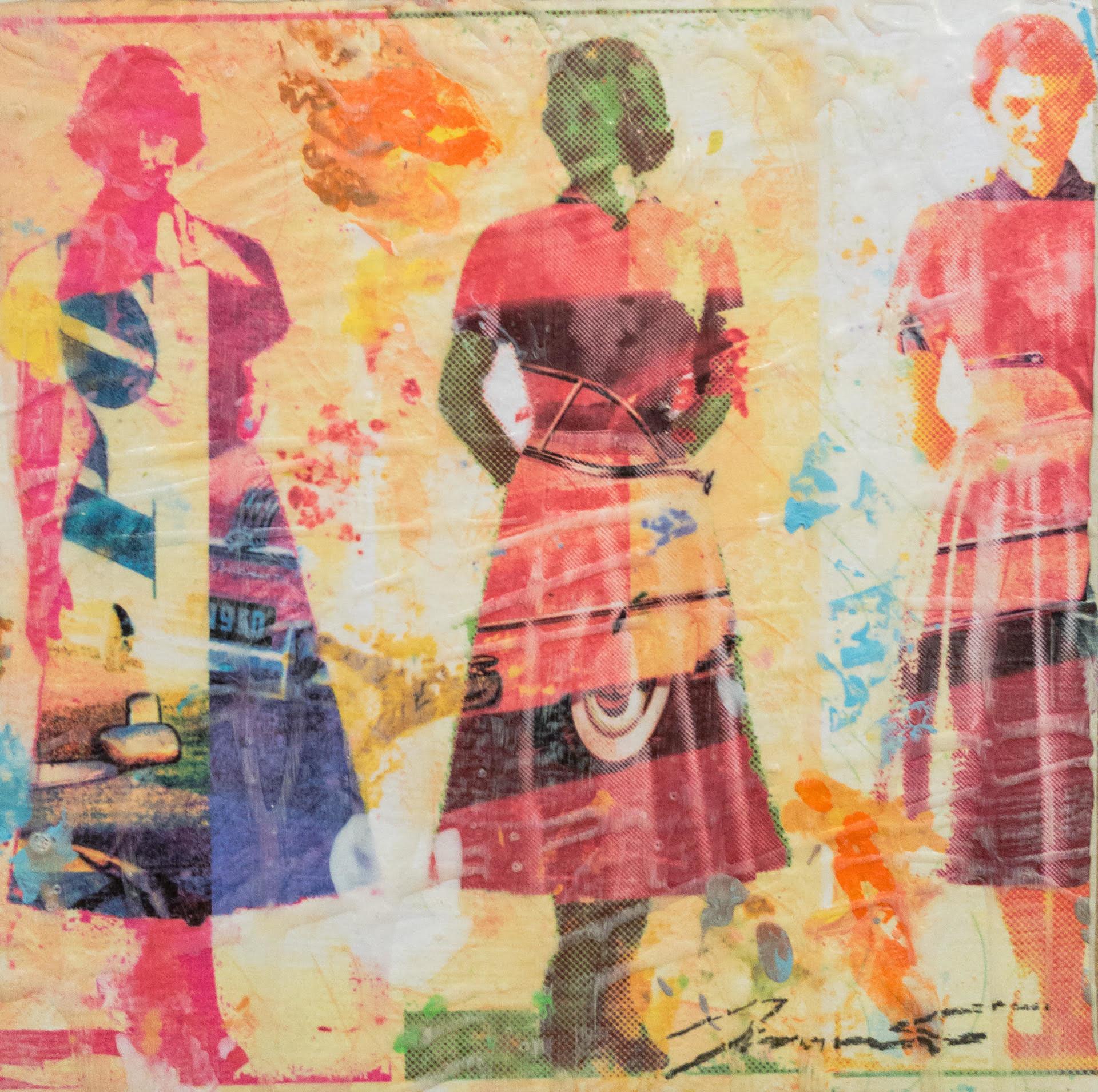 Dress Paper IV by Jon Davenport