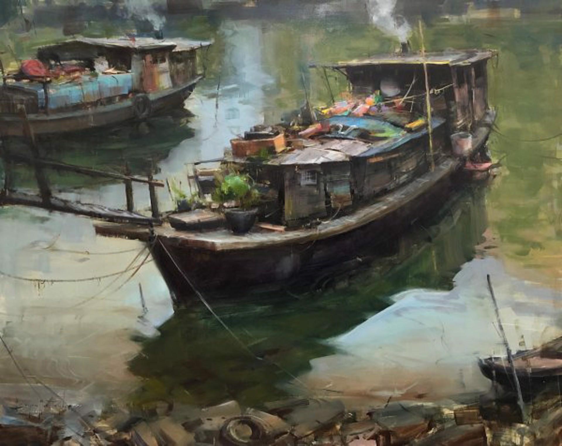 Treasure Boat by Bryan Mark Taylor