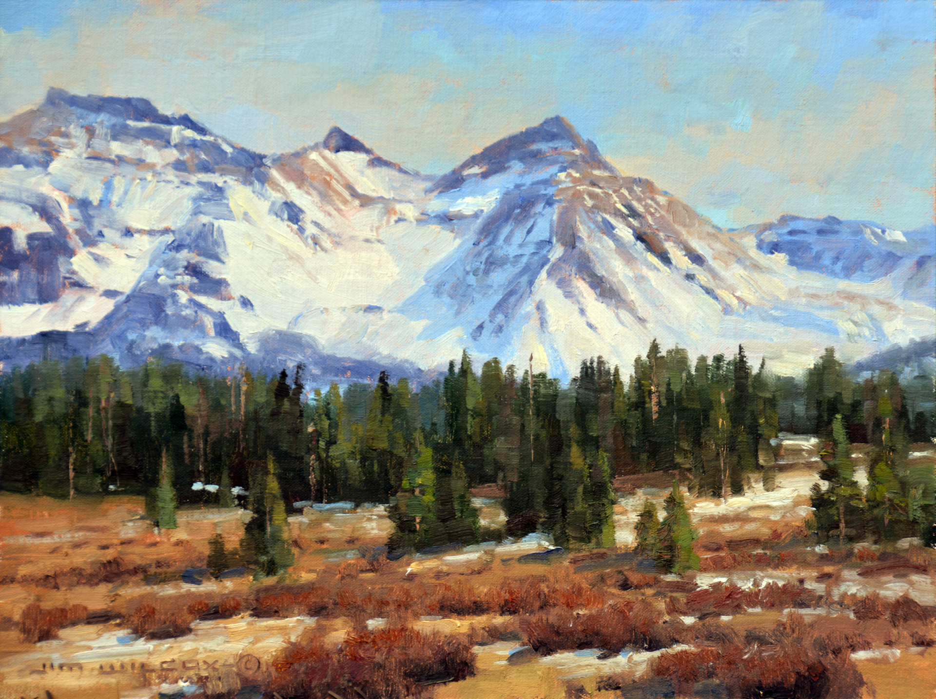 Vermillion Peaks by Jim Wilcox