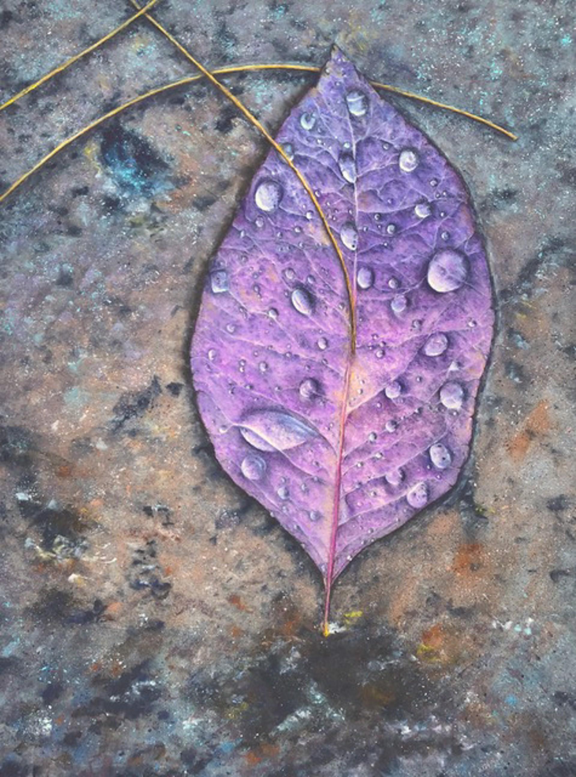 Spring Leaf by Tracy Klinesteker