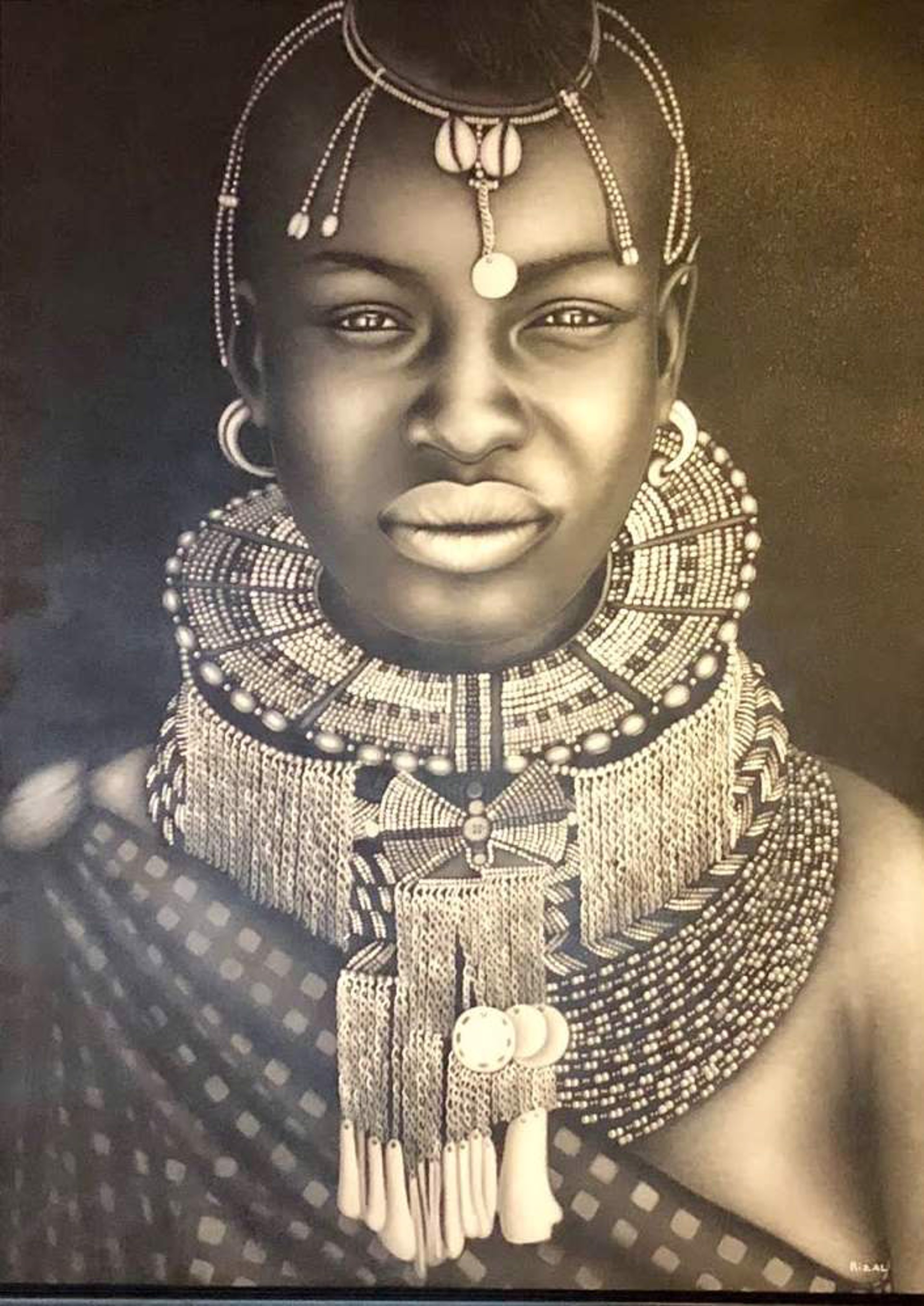 African Bride 2 by Ismed Rizal