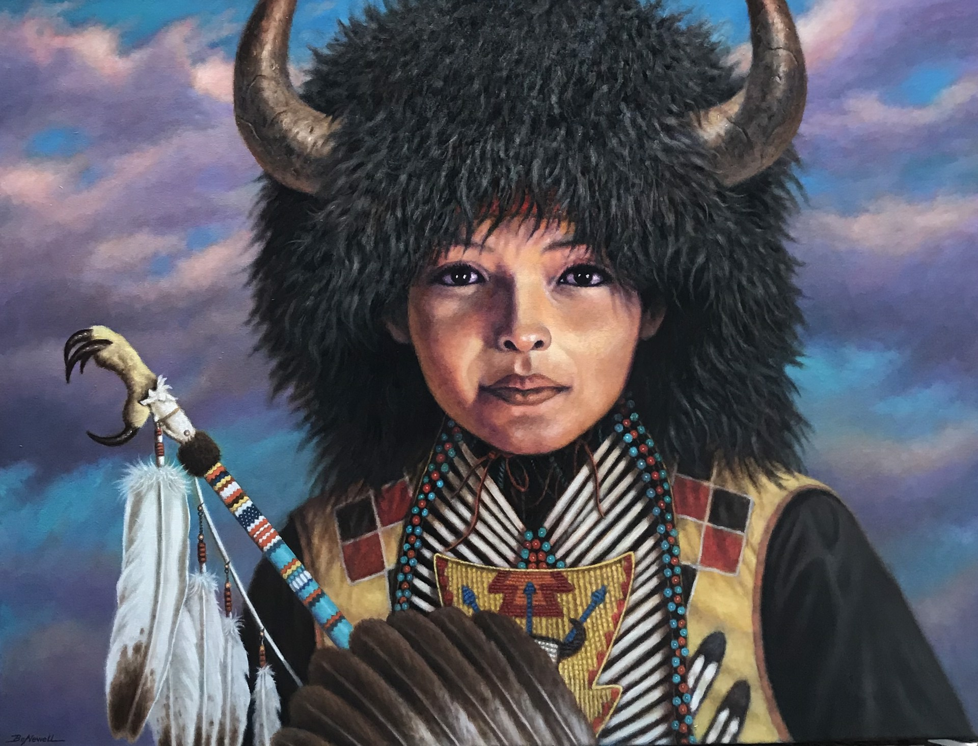 Buffalo Child by Bo Newell
