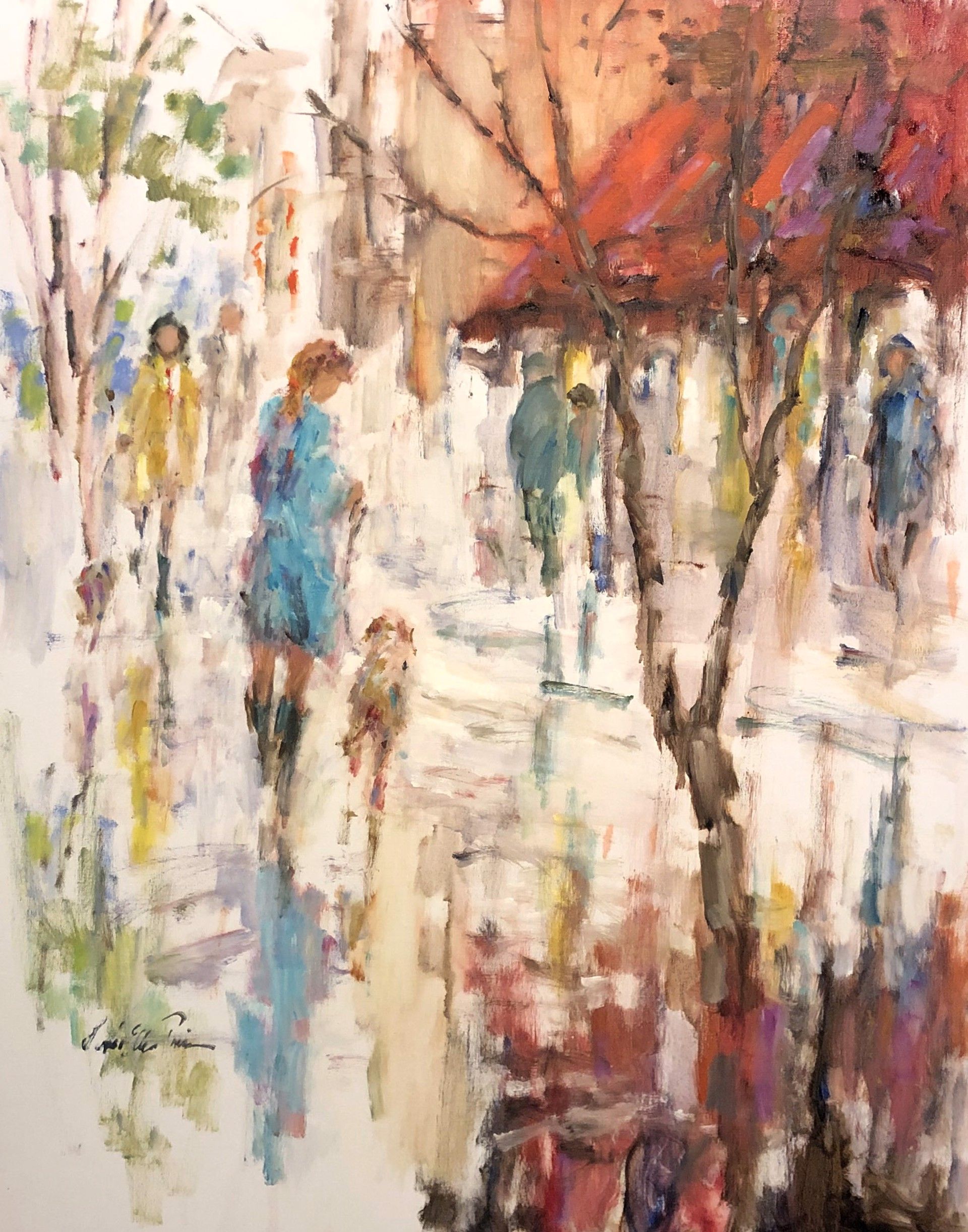 Autumn Stroll by Linda Ellen Price