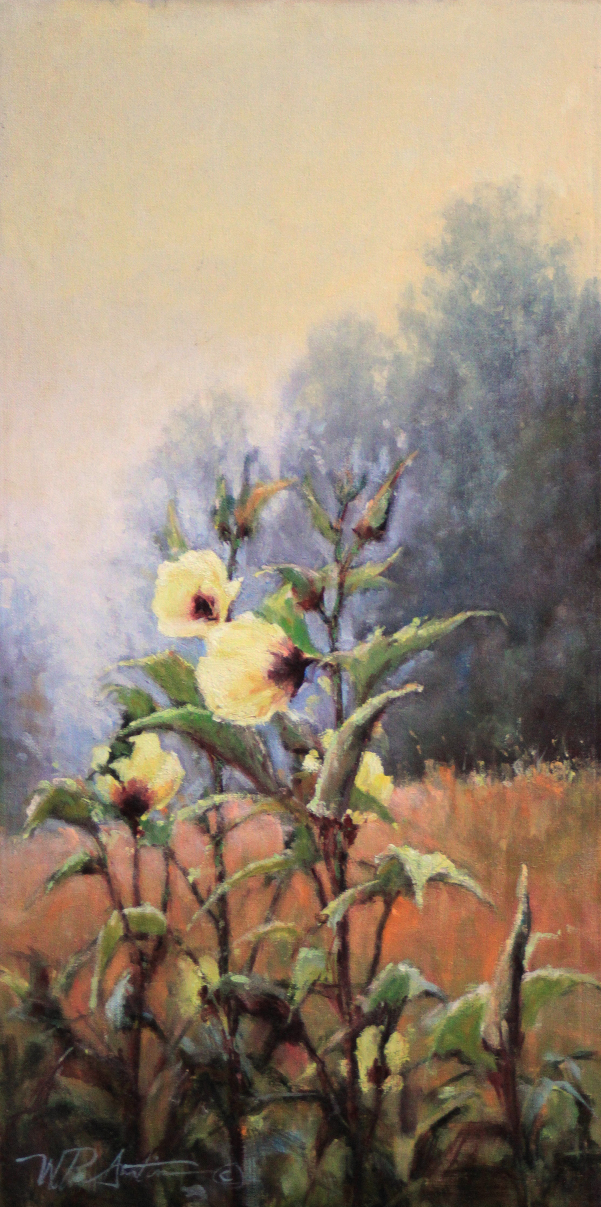 Okra Blossoms by Perry Austin