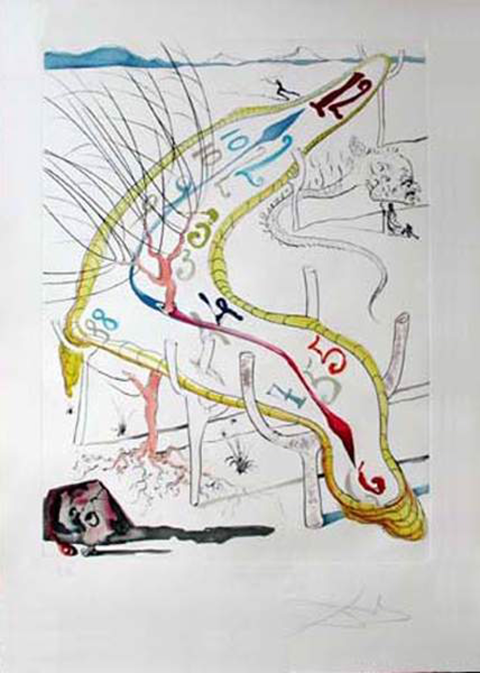 Frozen Watches of Space Time by Salvador Dali