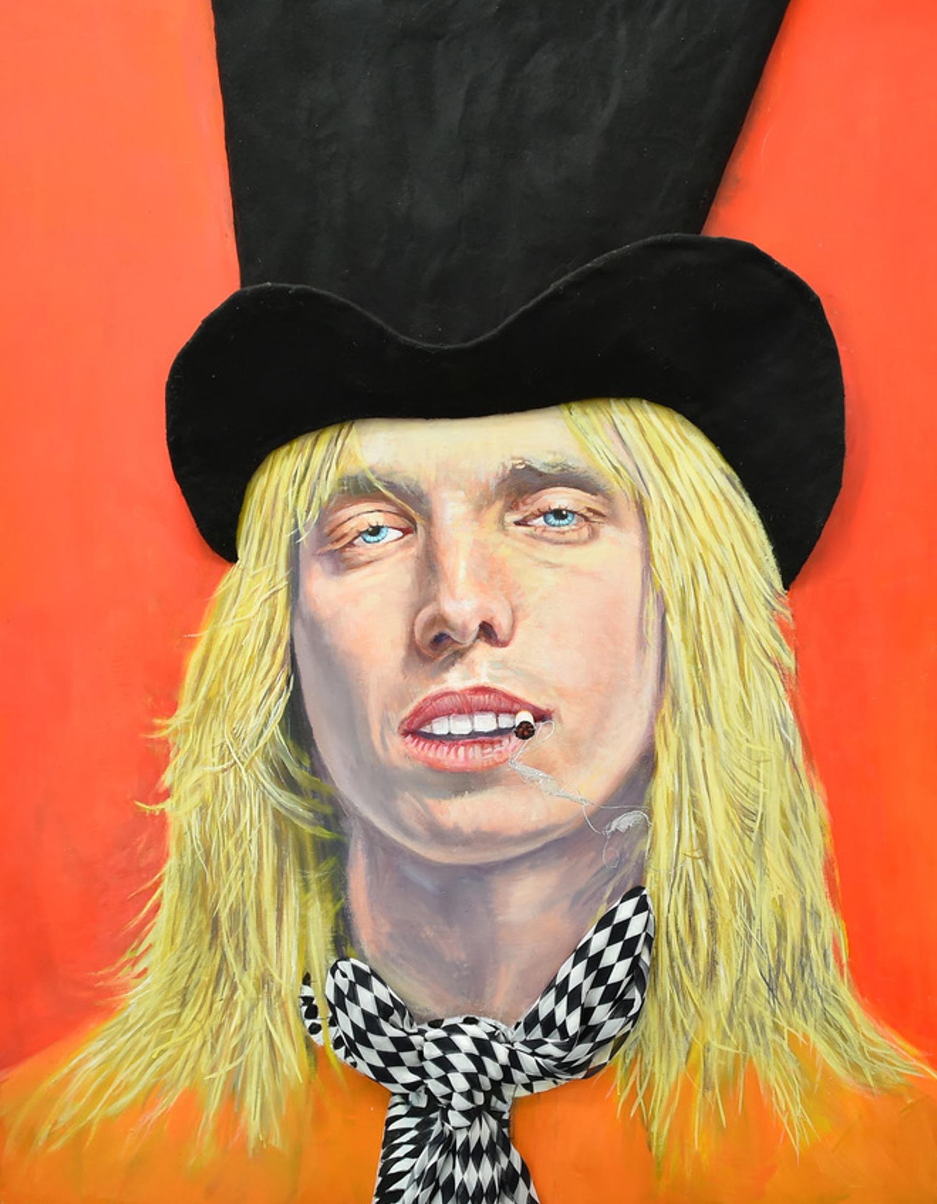 Smoking Tom Petty by StrosbergMandel