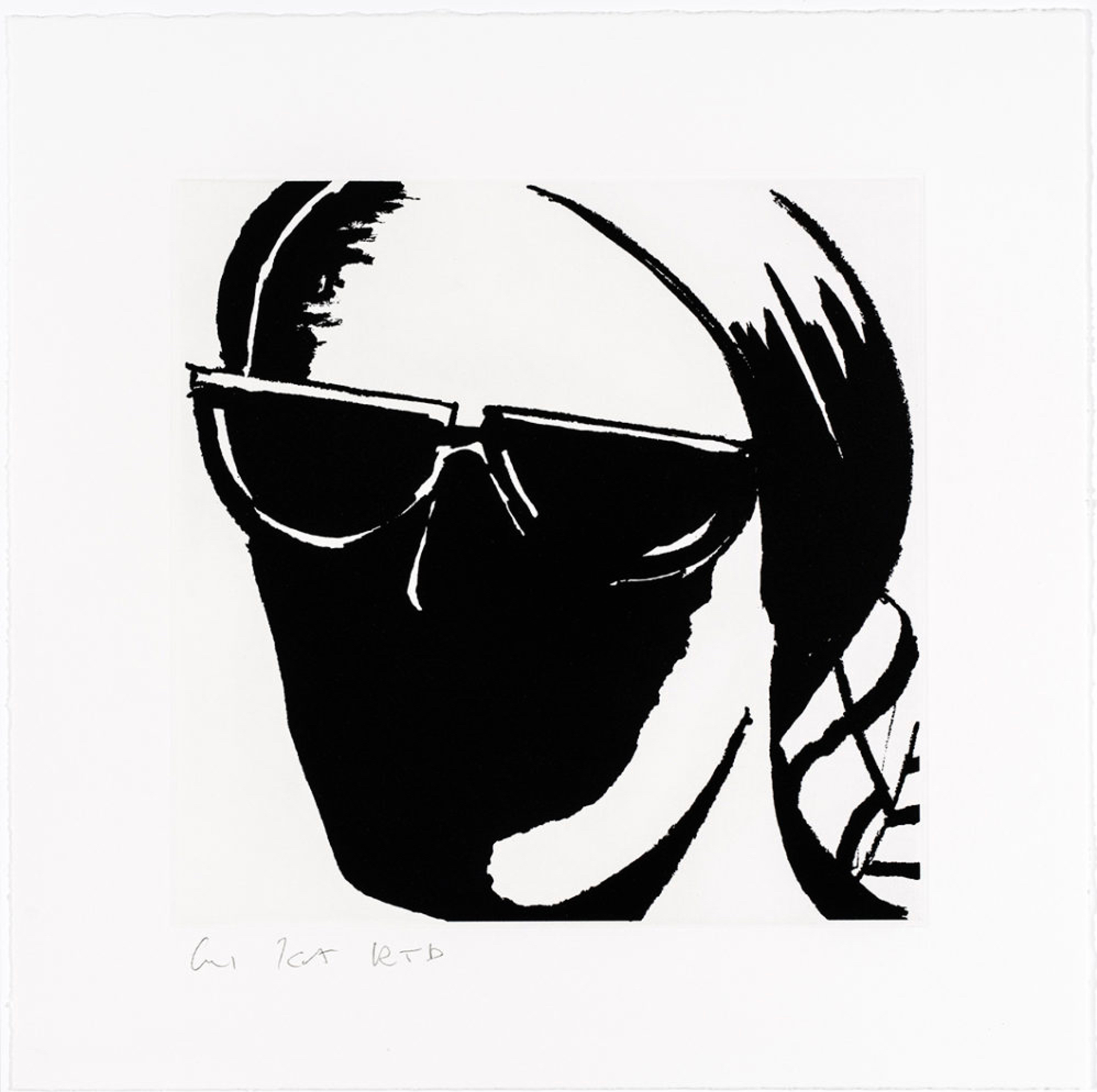 ADA #8 by Alex Katz