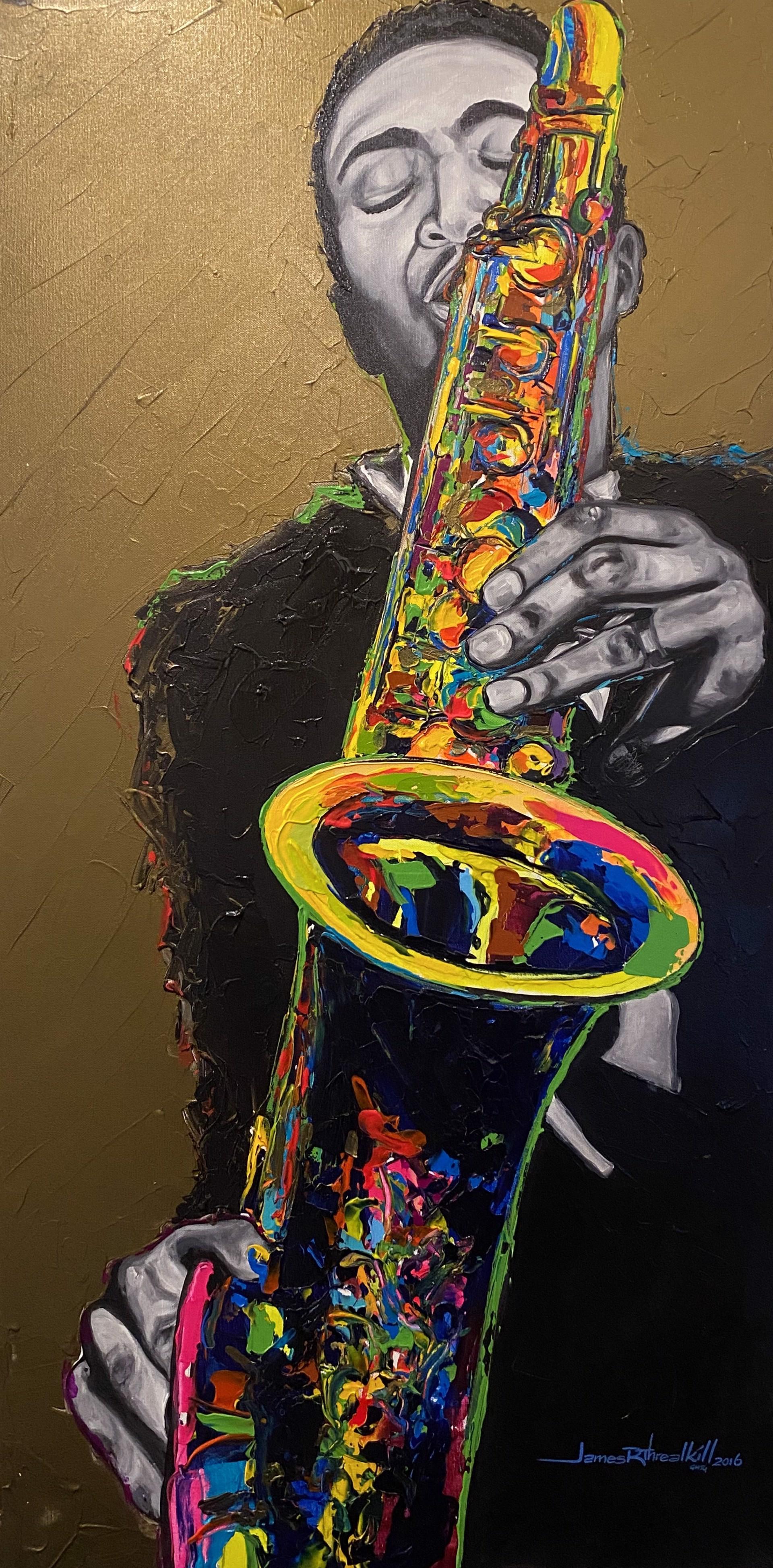Electrified Jazz  by James Threalkill