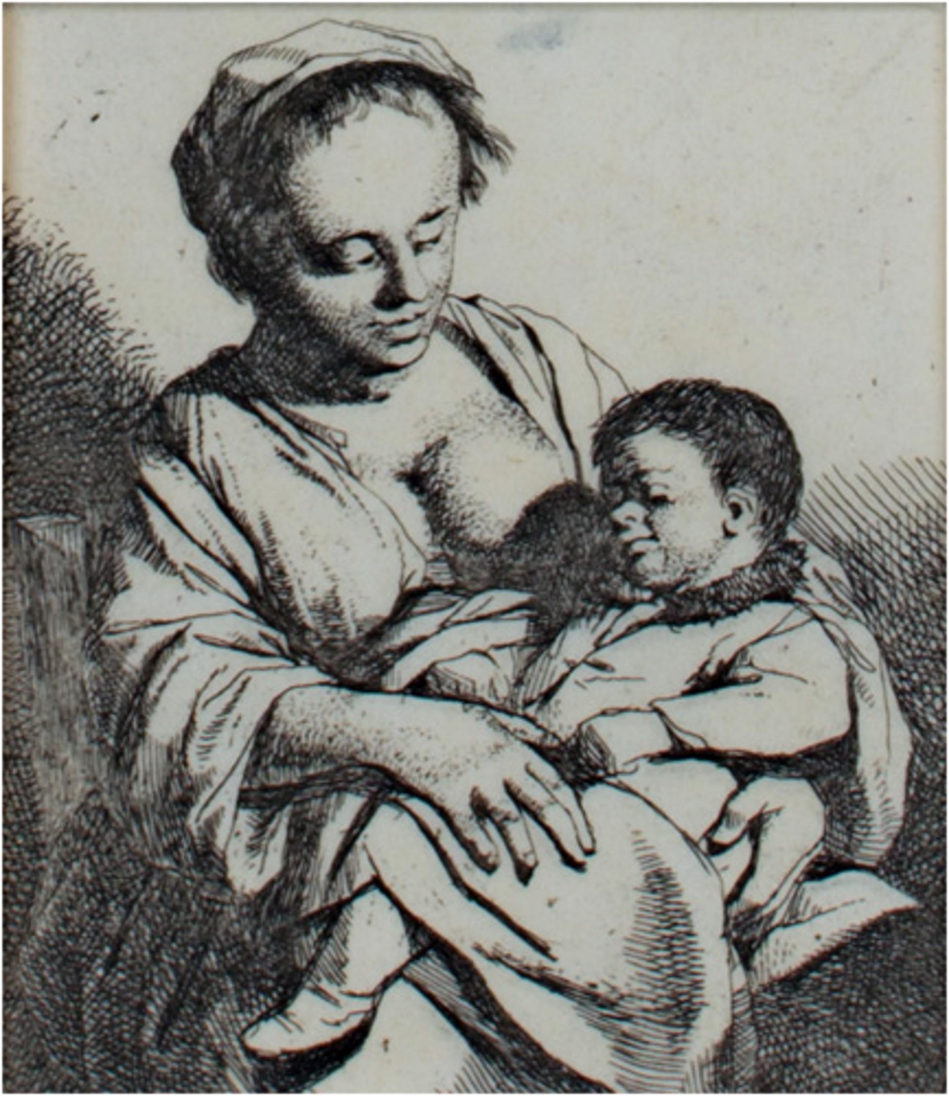 Mother & Child by Cornelis-Pietersz Bega