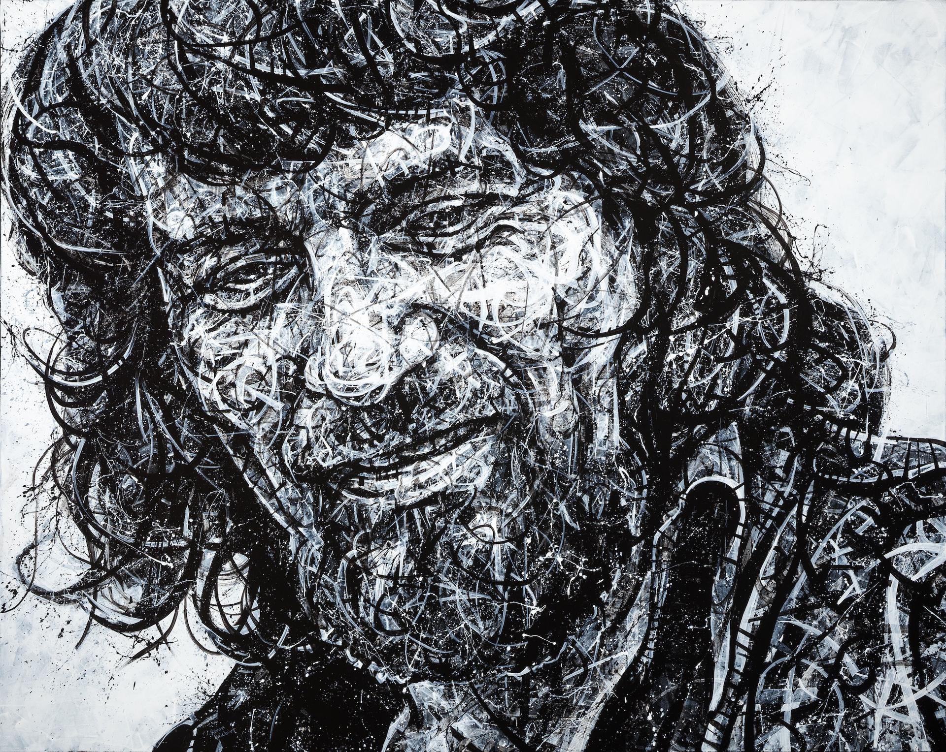 Waylon Jennings by Aaron Reichert