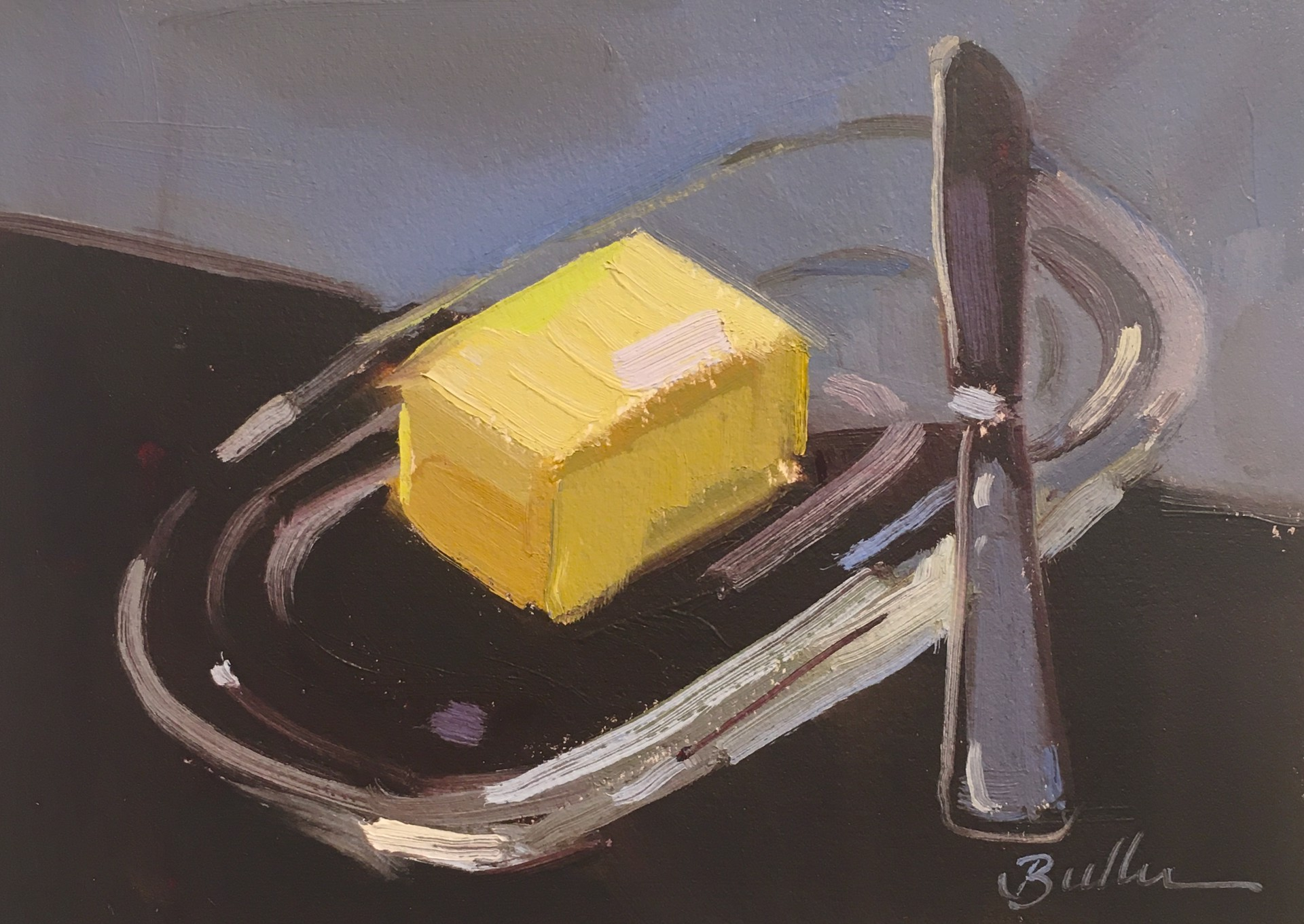 The Butter Dish by Samantha Buller