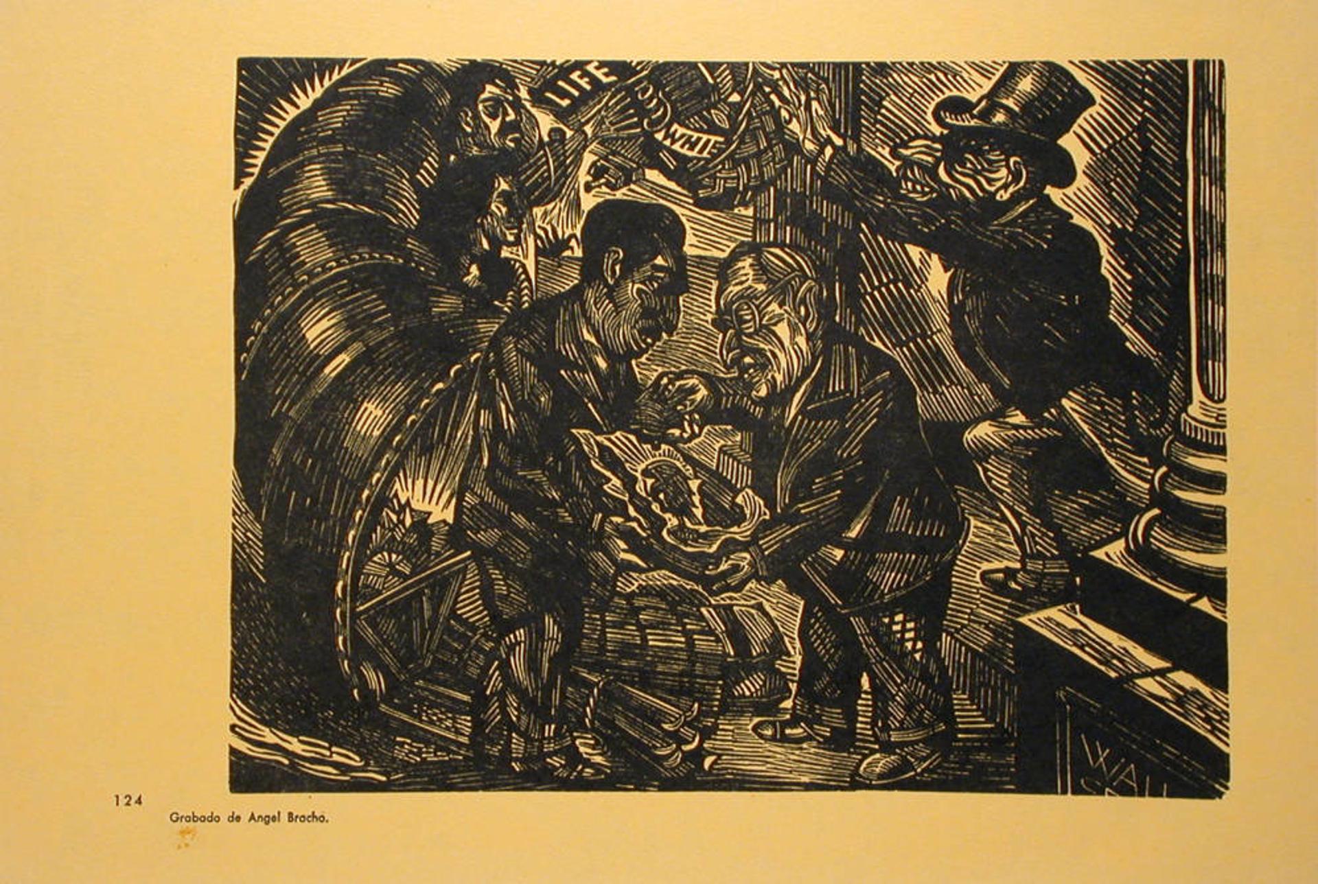 La Sociedad Alemán-Truman by Ángel Bracho (1911 - 2005)