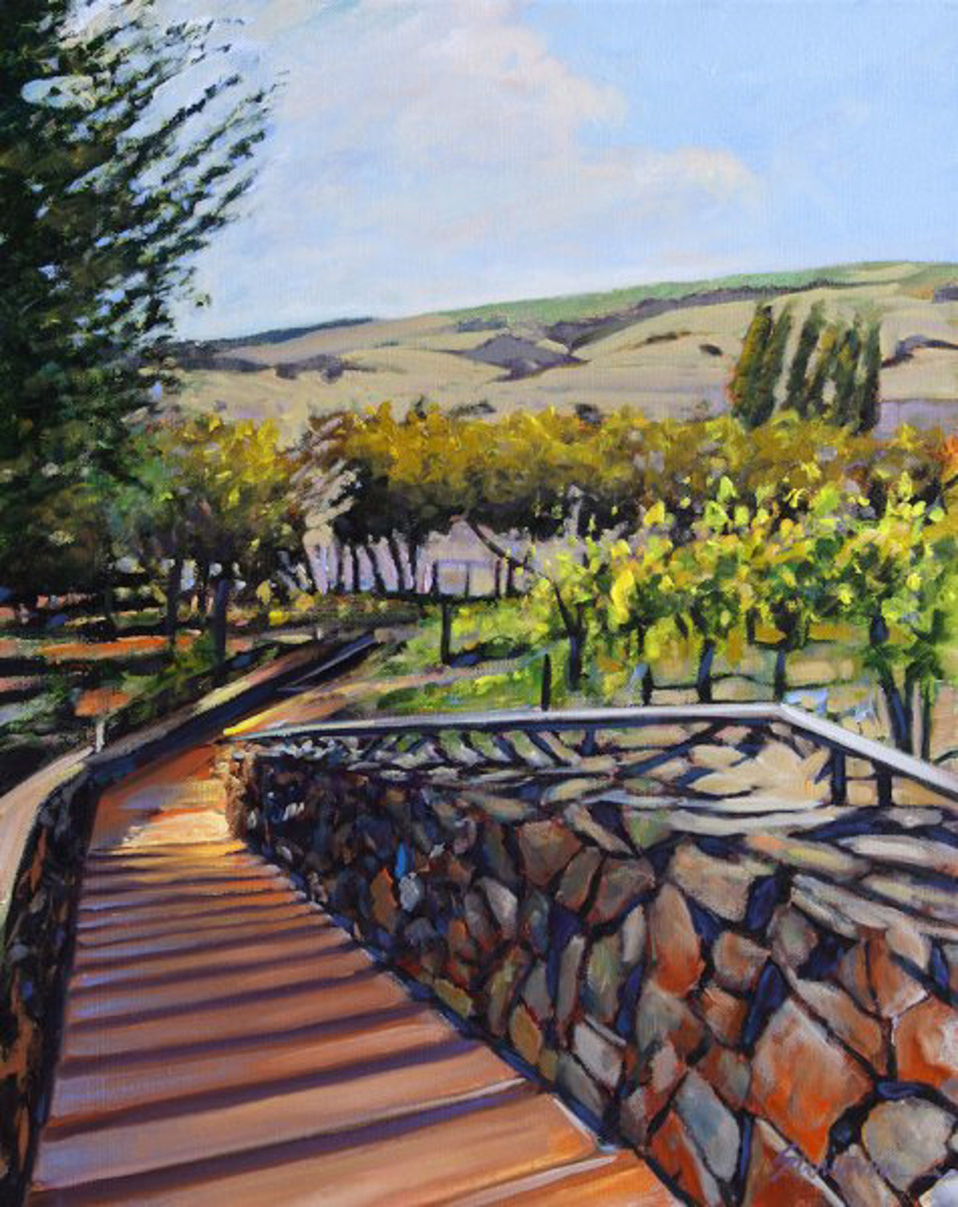 Tom Swimm: Viansa Winery by Tom Swimm