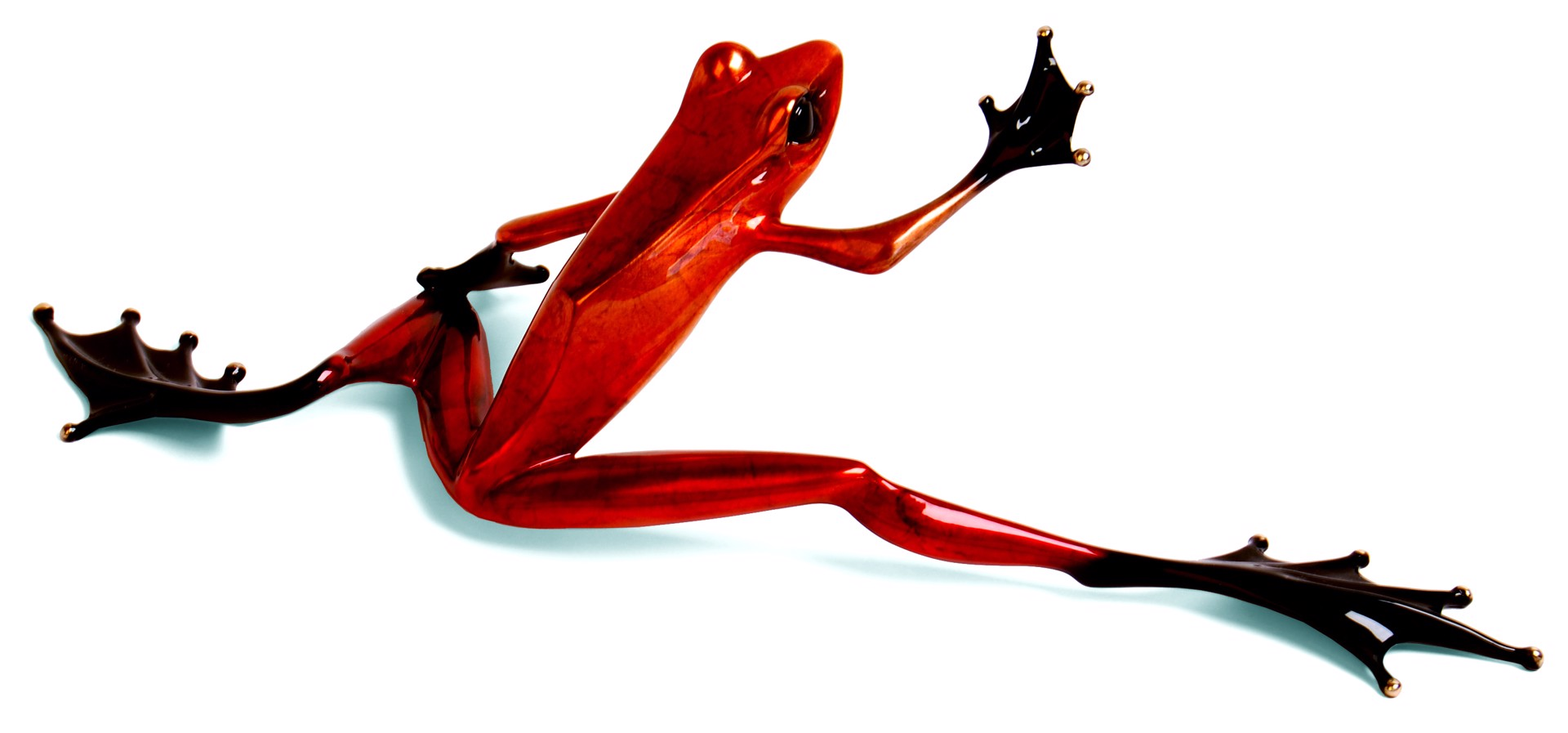 Steppin' Out II - Platinum Frog - Red Nitrate BF78S3 by Tim Cotterill