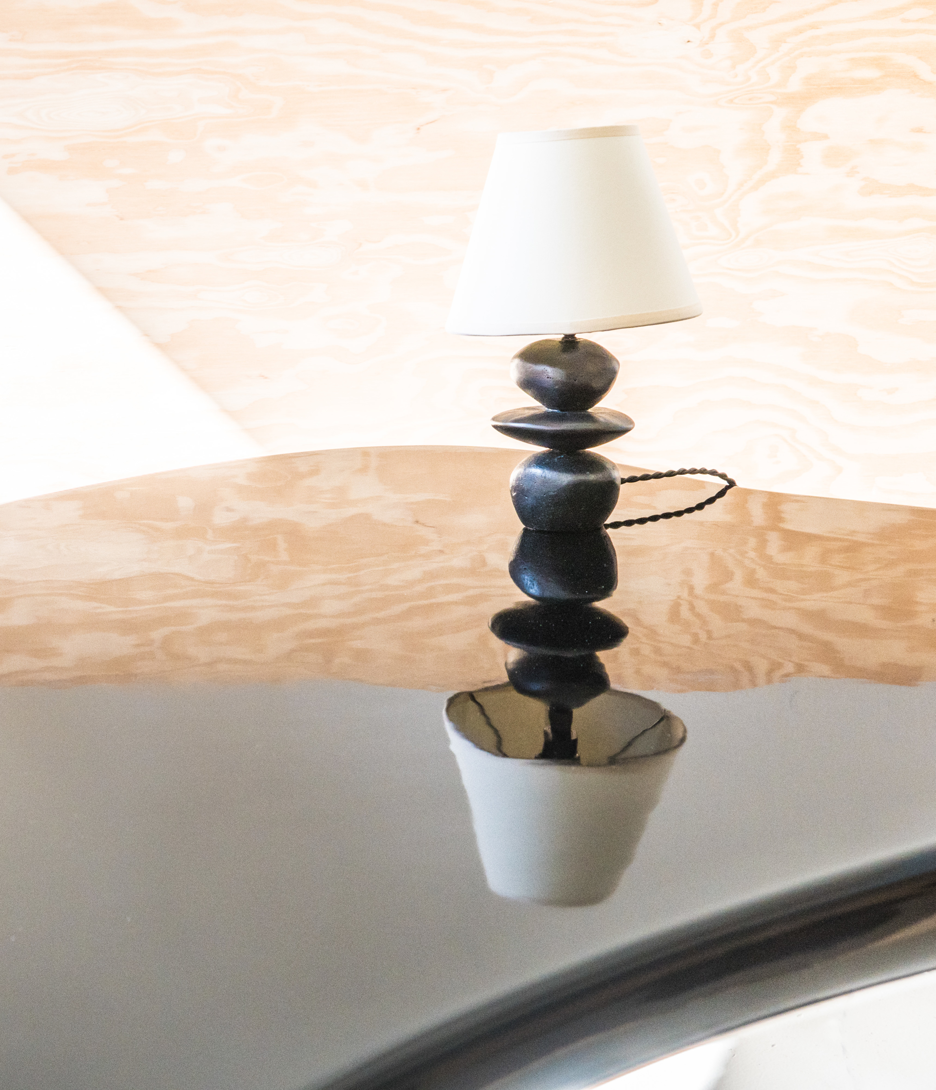 """Small Ménine"" Table lamp by Jacques Jarrige"