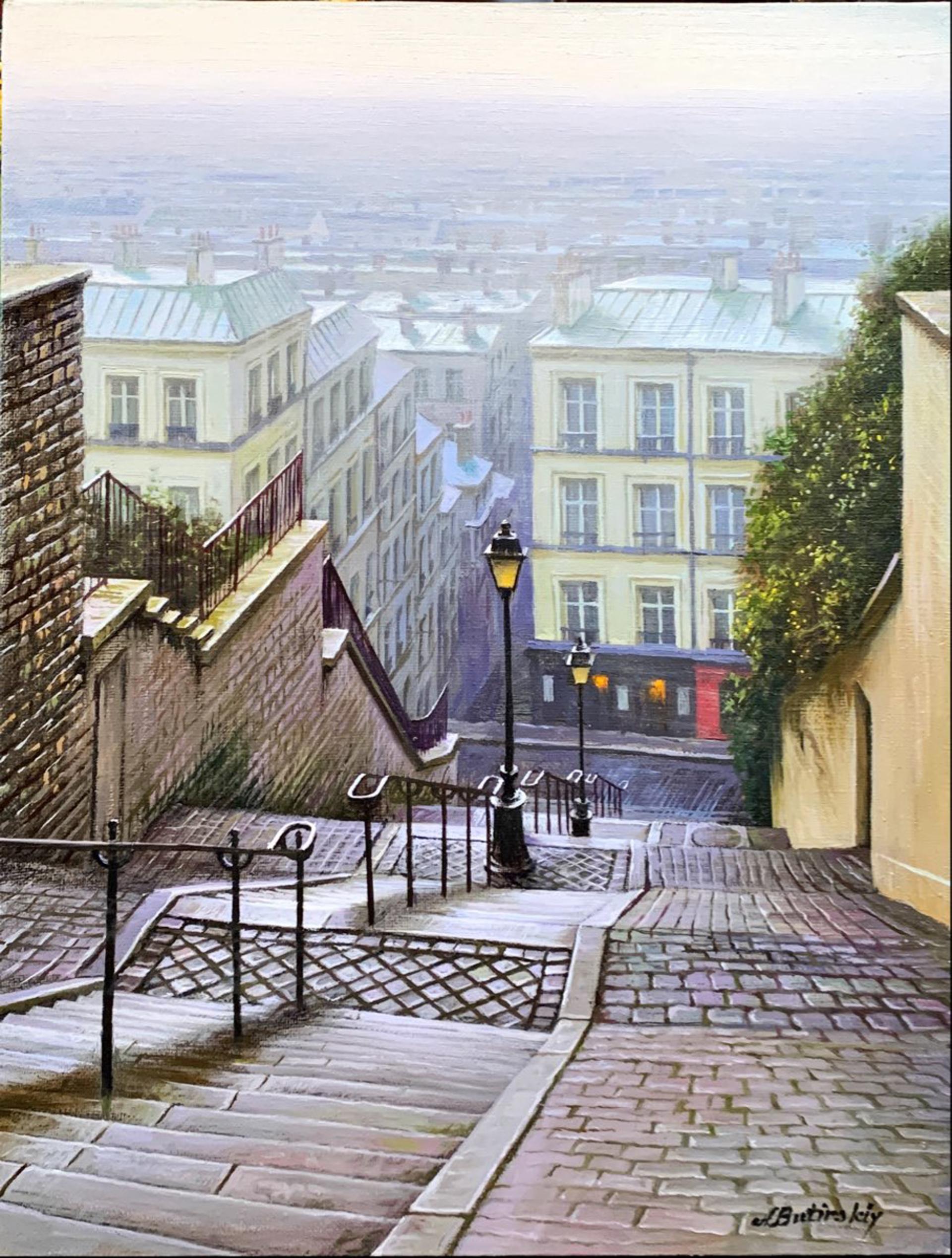 Misty Steps by Alexei Butirskiy