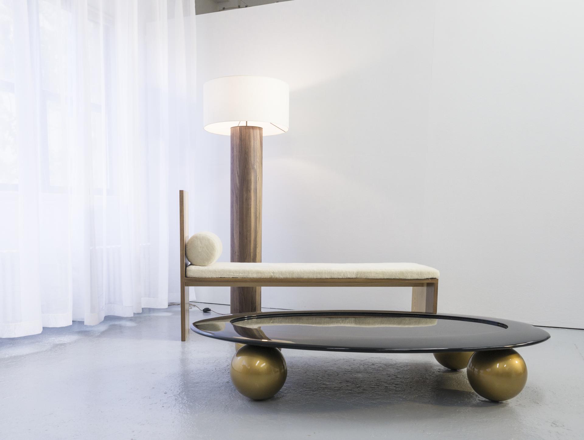 Floor lamp   by Tinatin Kilaberidze