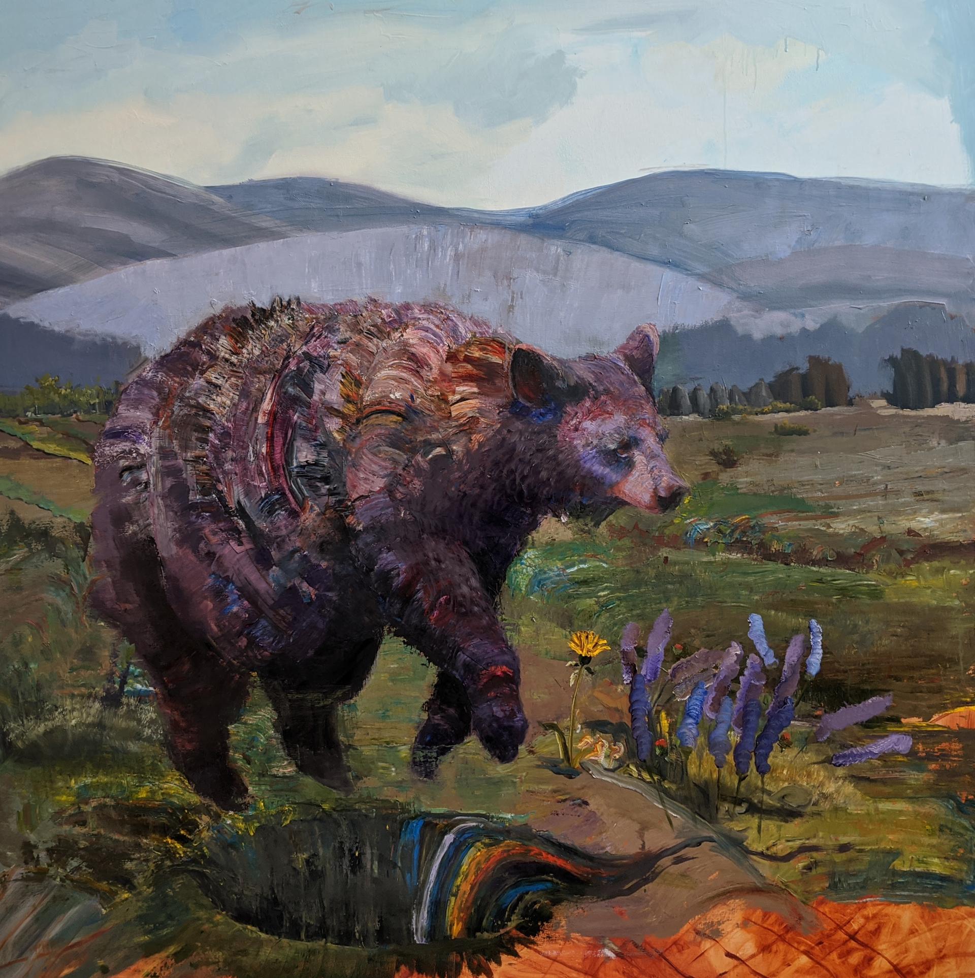 Bear I Am Afraid Of by Caitlin Hurd