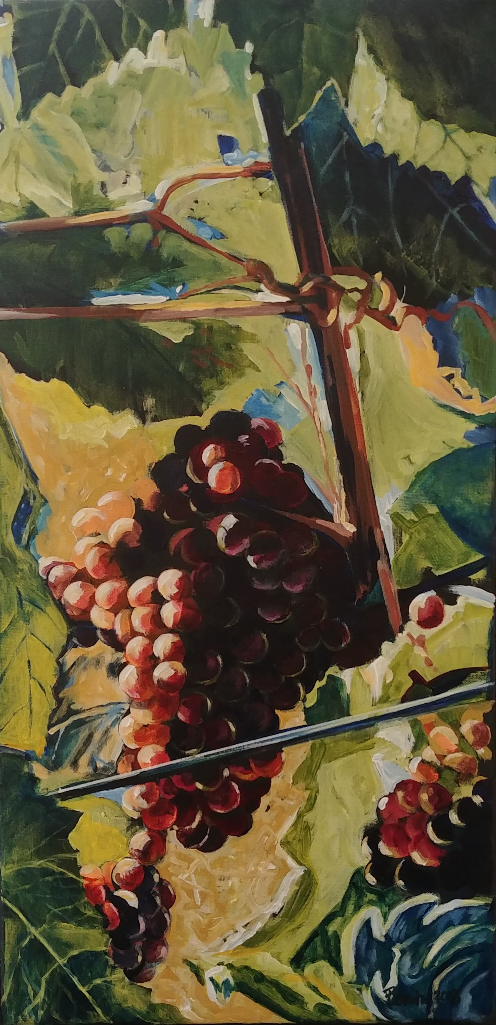 Grapes on the Vine by Benita Cole (McMinnville, OR)