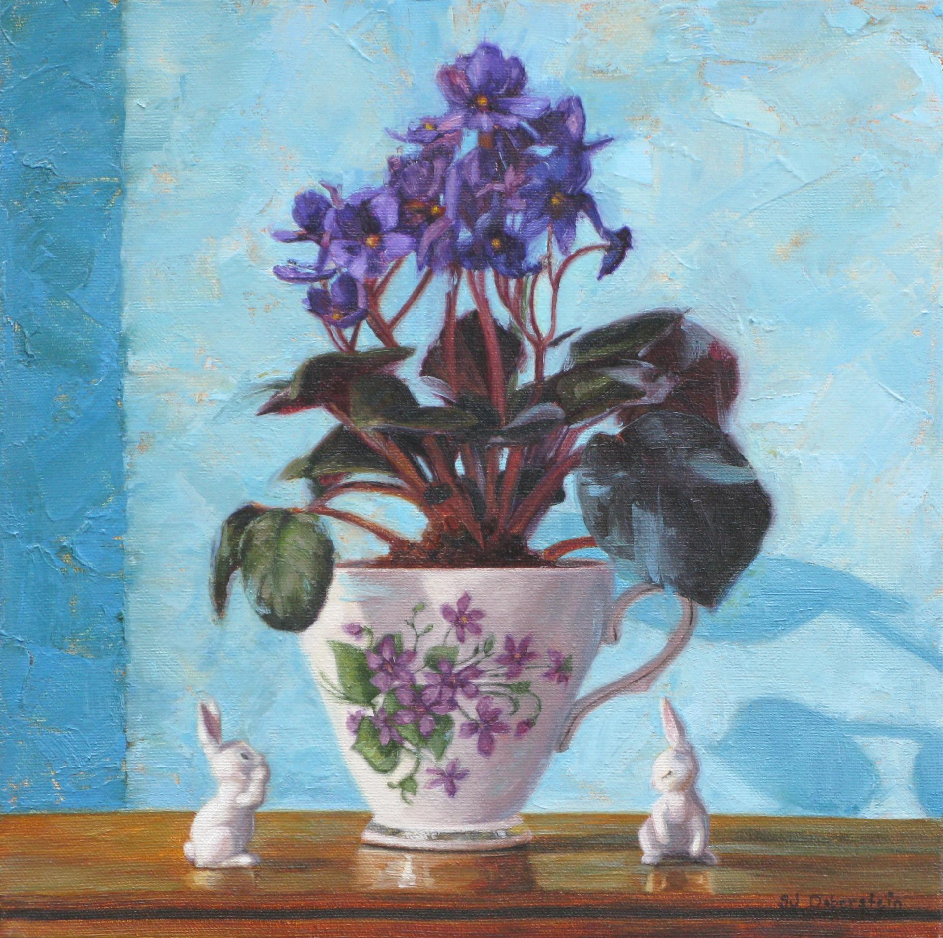 Violets are Blue by Sara Jane Doberstein