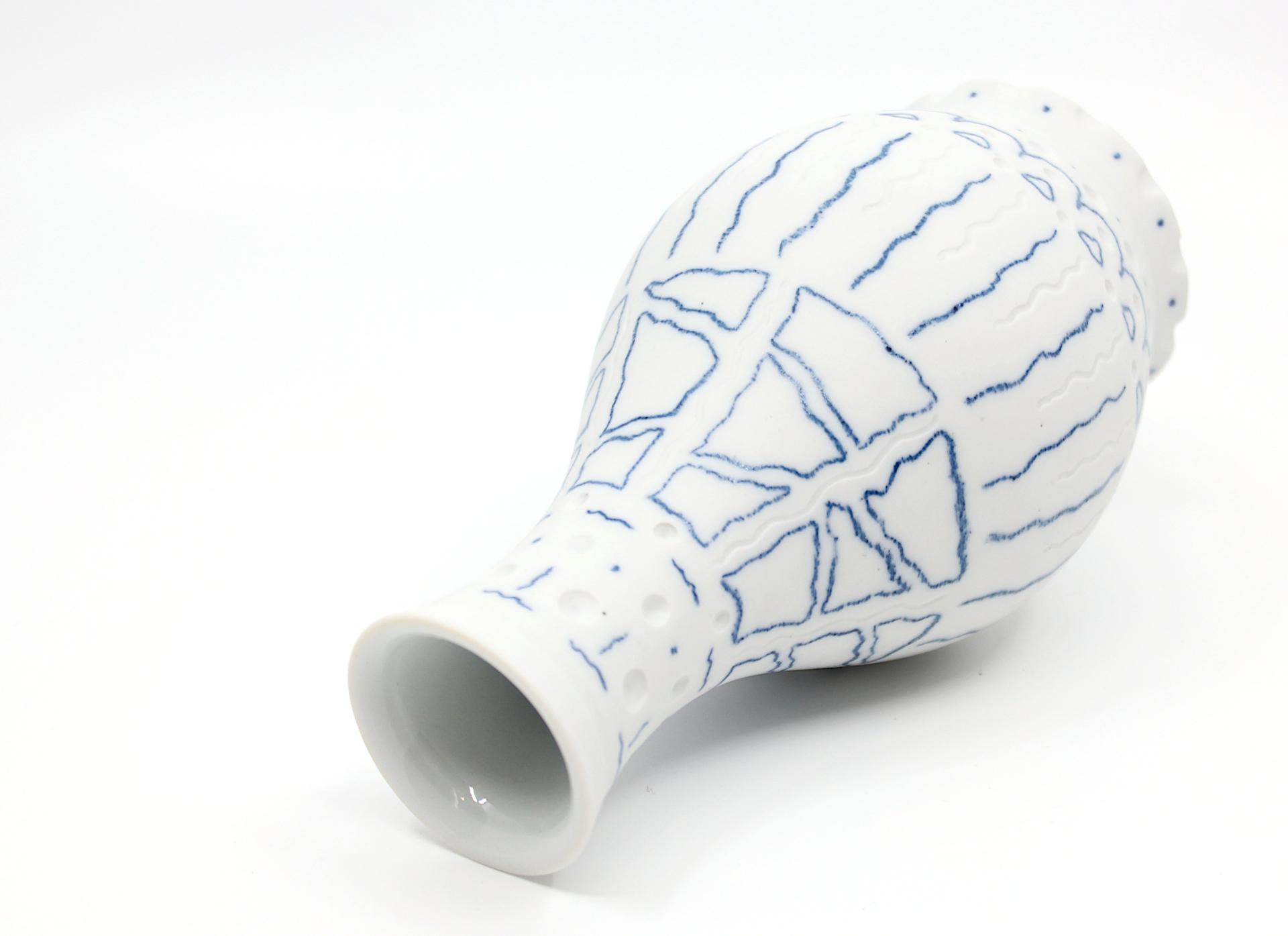 White Vase by Chris Casey