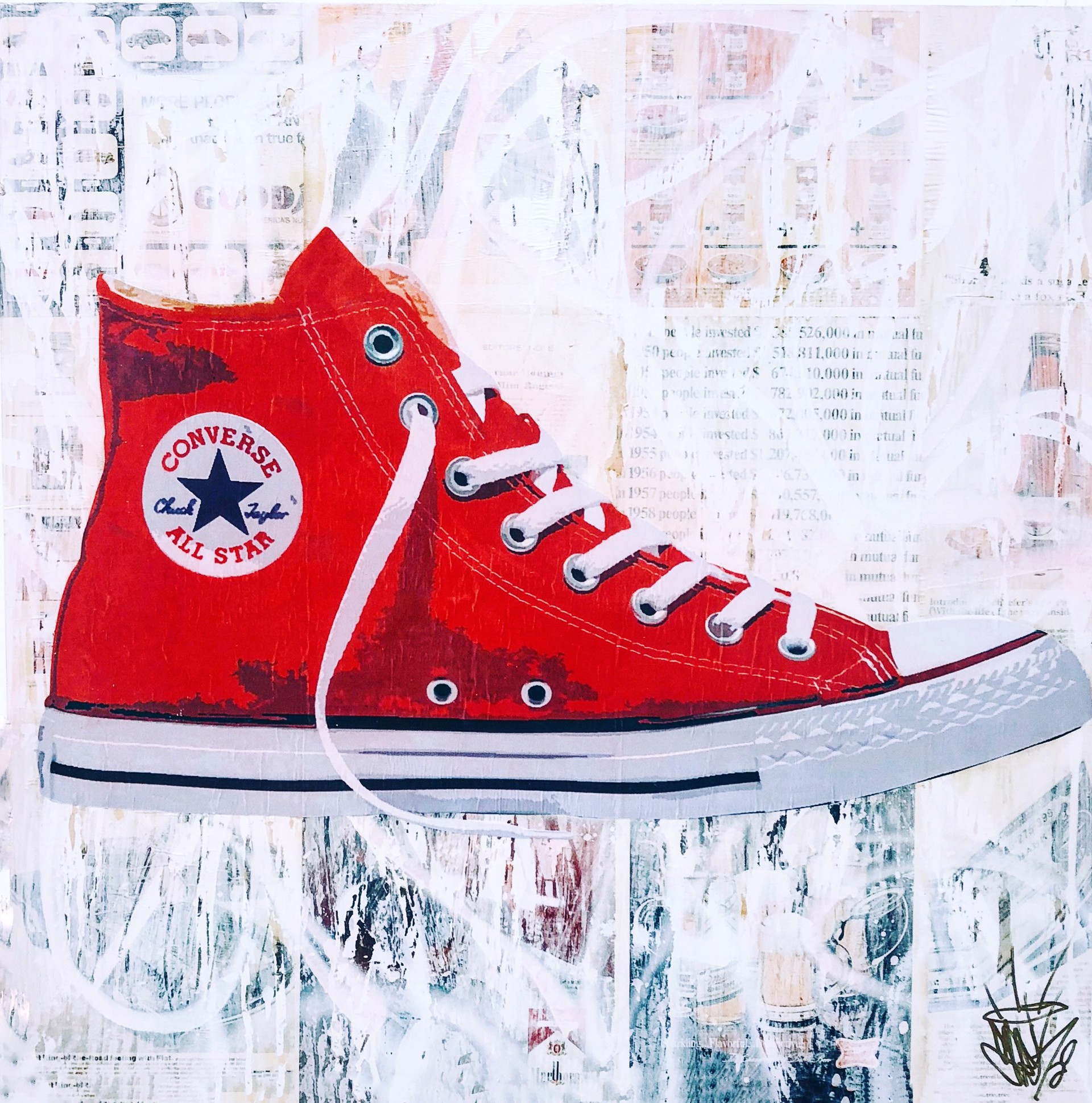 New Chucks - SOLD - commission available by Seek One