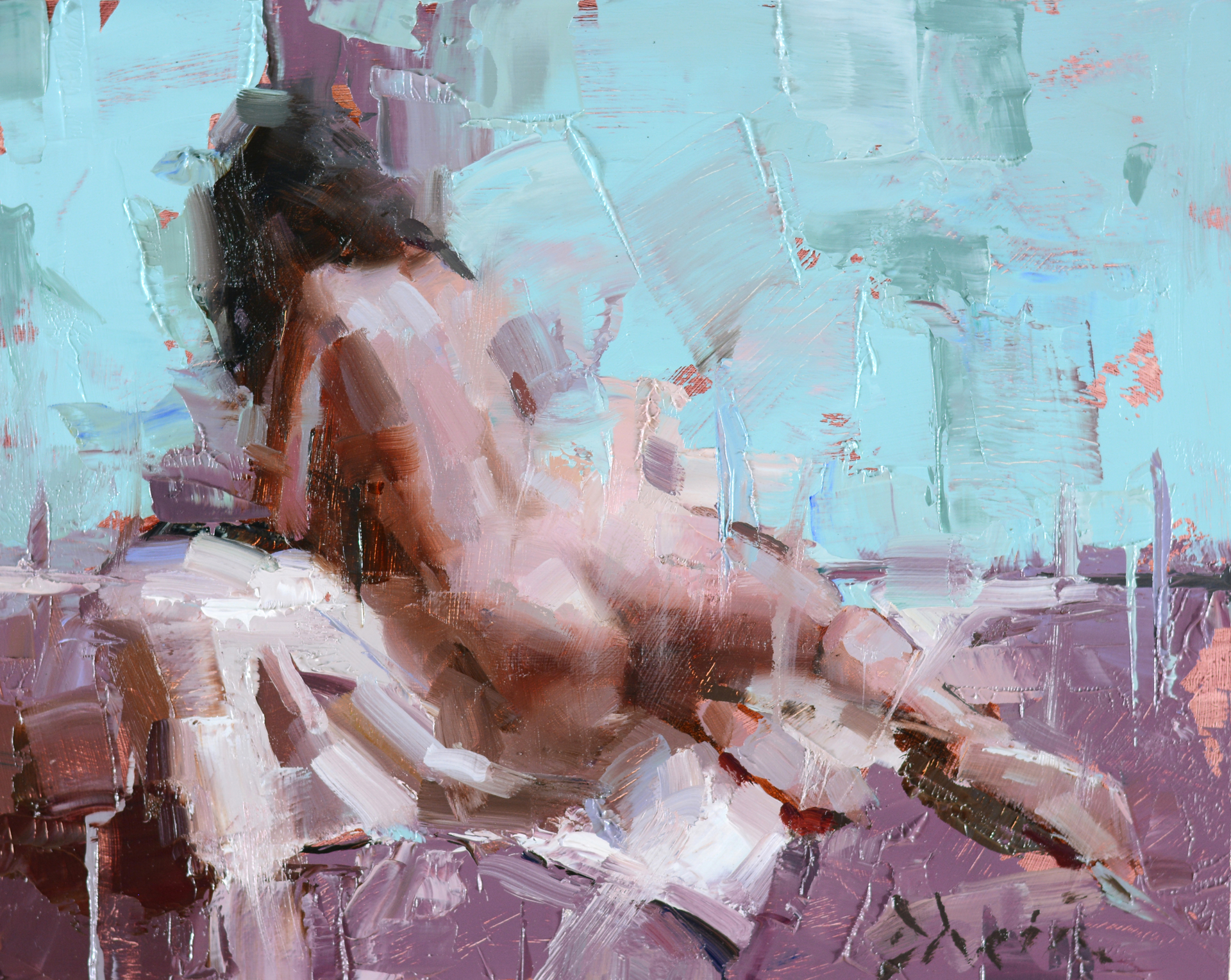 Nude Study 2 by Jacob Dhein