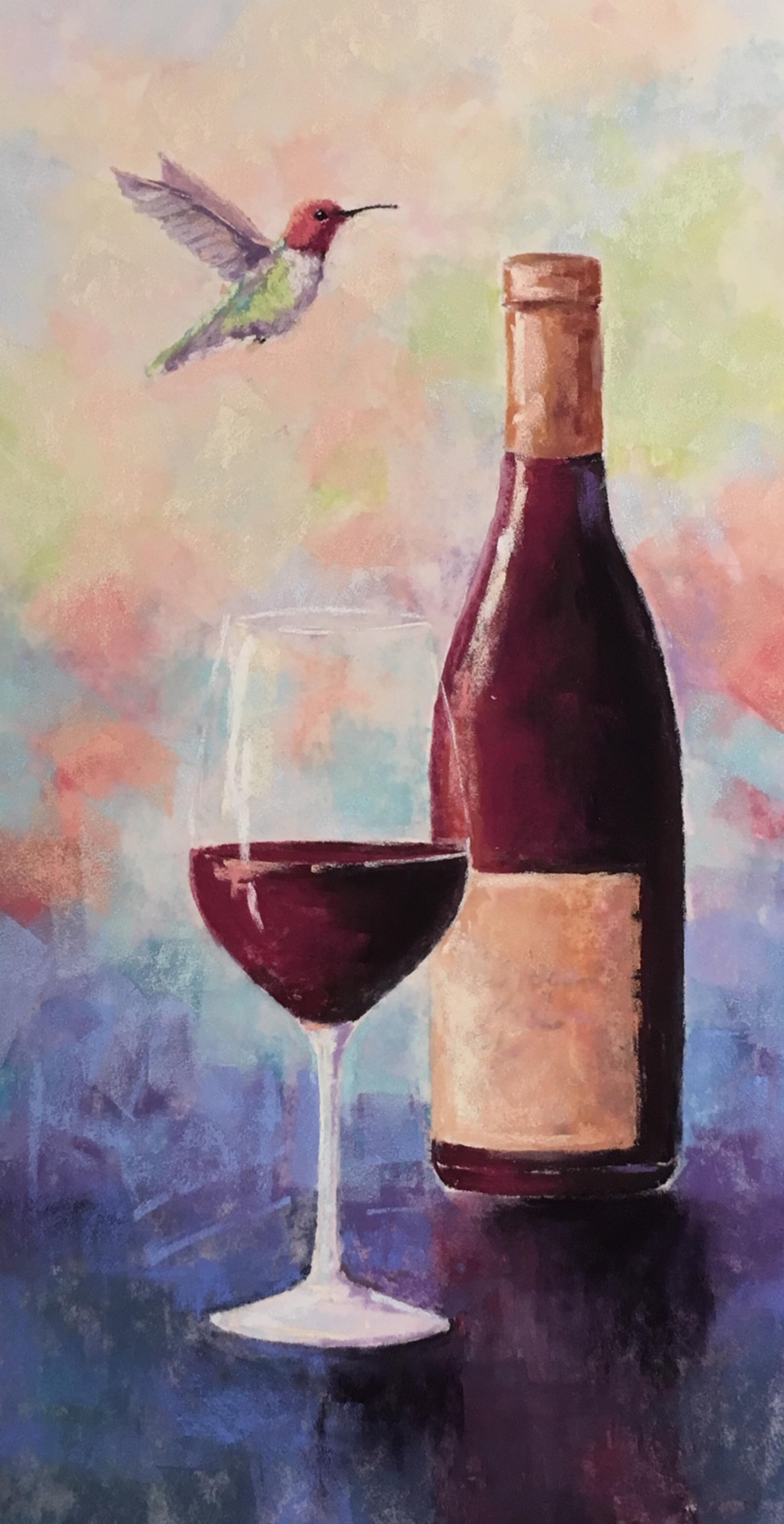 Wine O'Clock Somewhere by Cecilia Murray