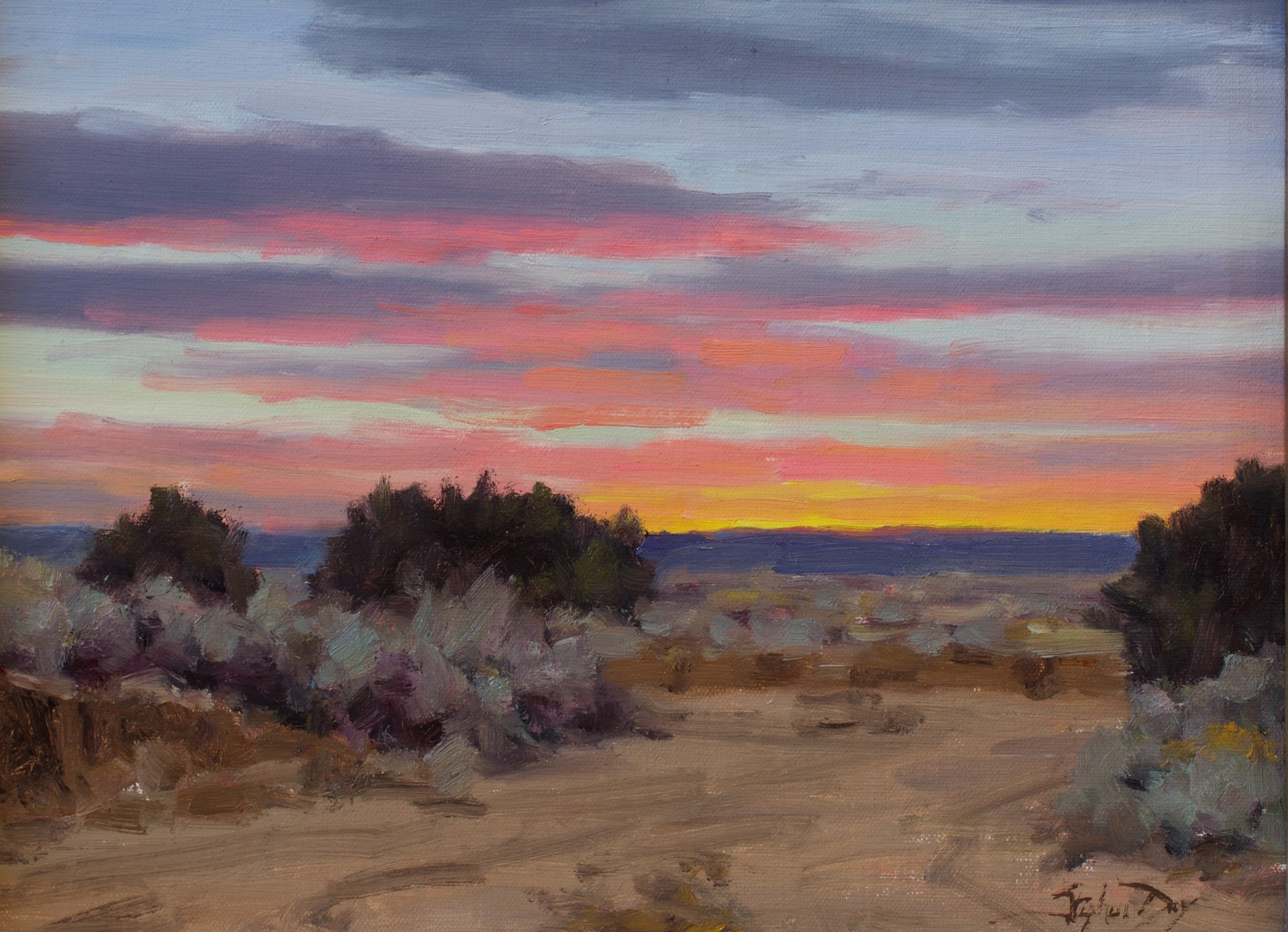 Evening Sketch by Stephen Day