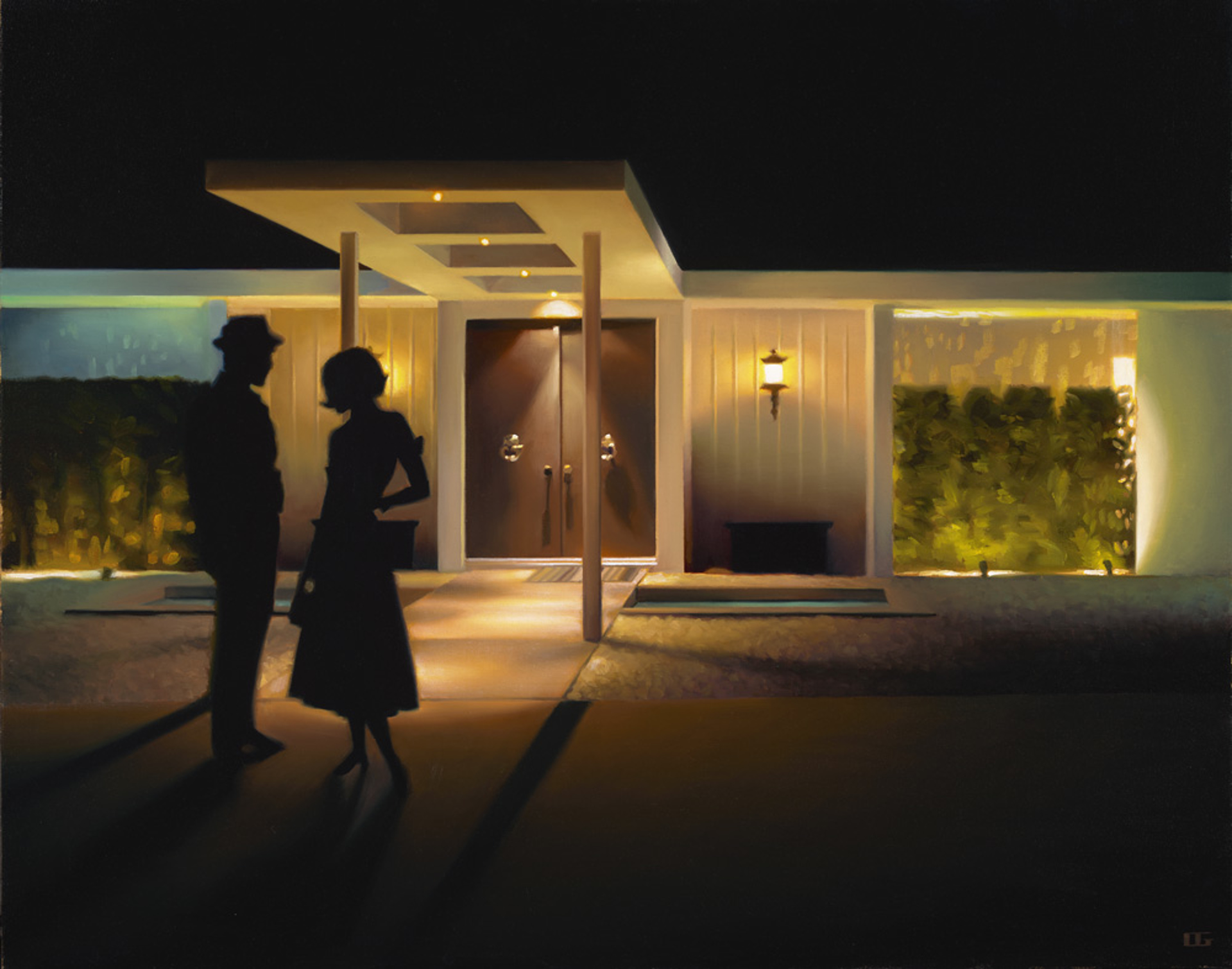 Night Cap (Swan House) (S/N) by Carrie Graber