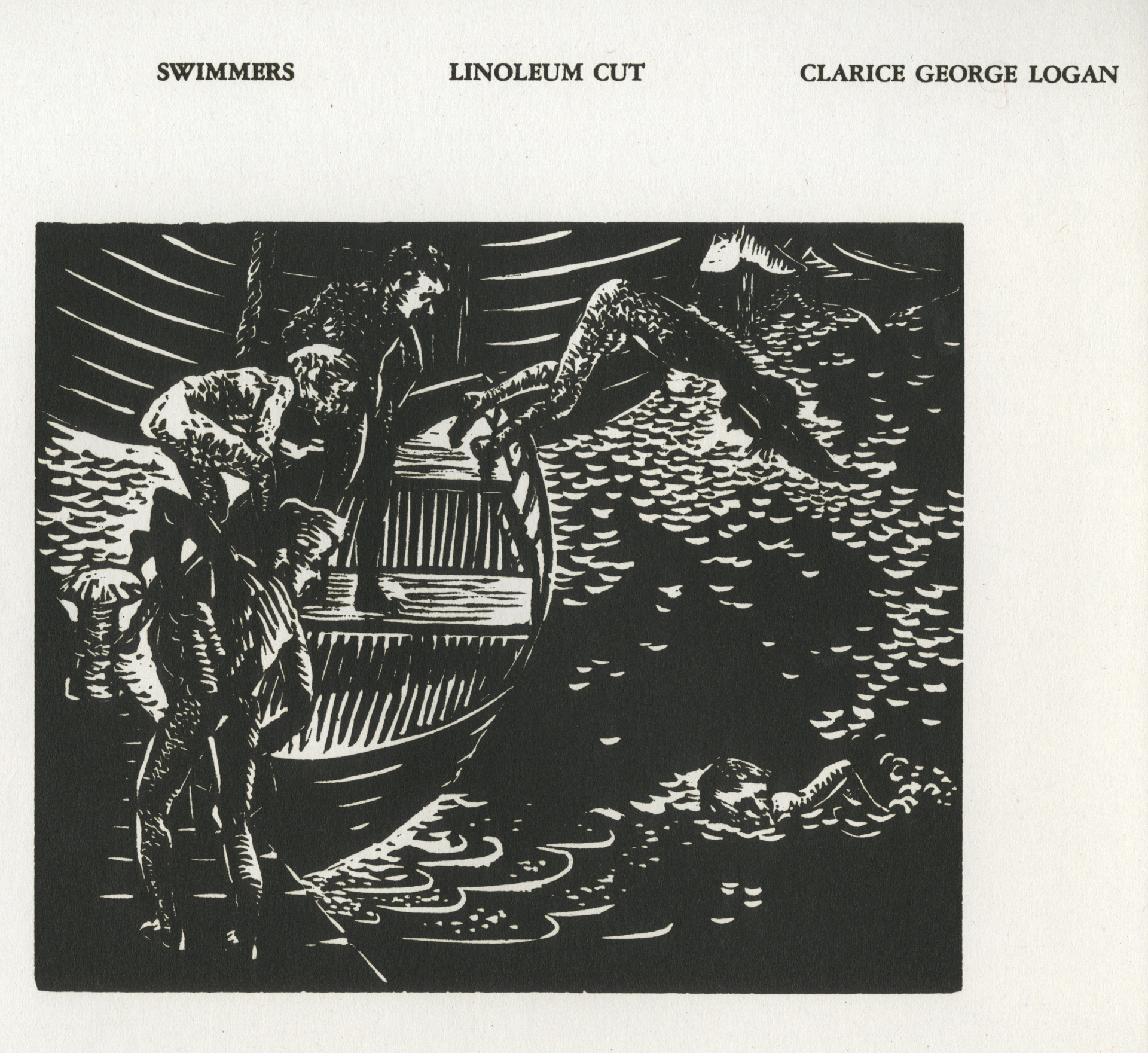 Swimmers by Clarice George Logan