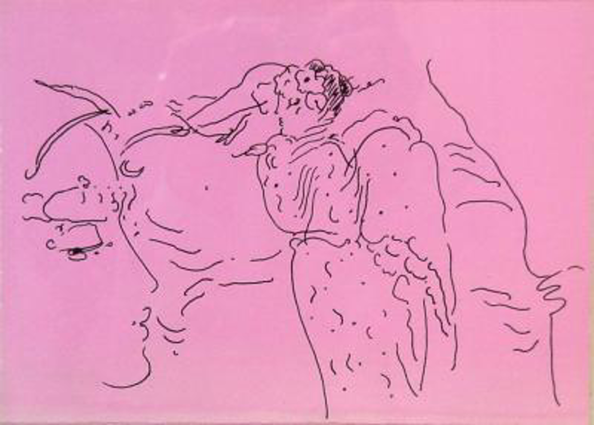 Angels 3 (Suite of Six) by Peter Max