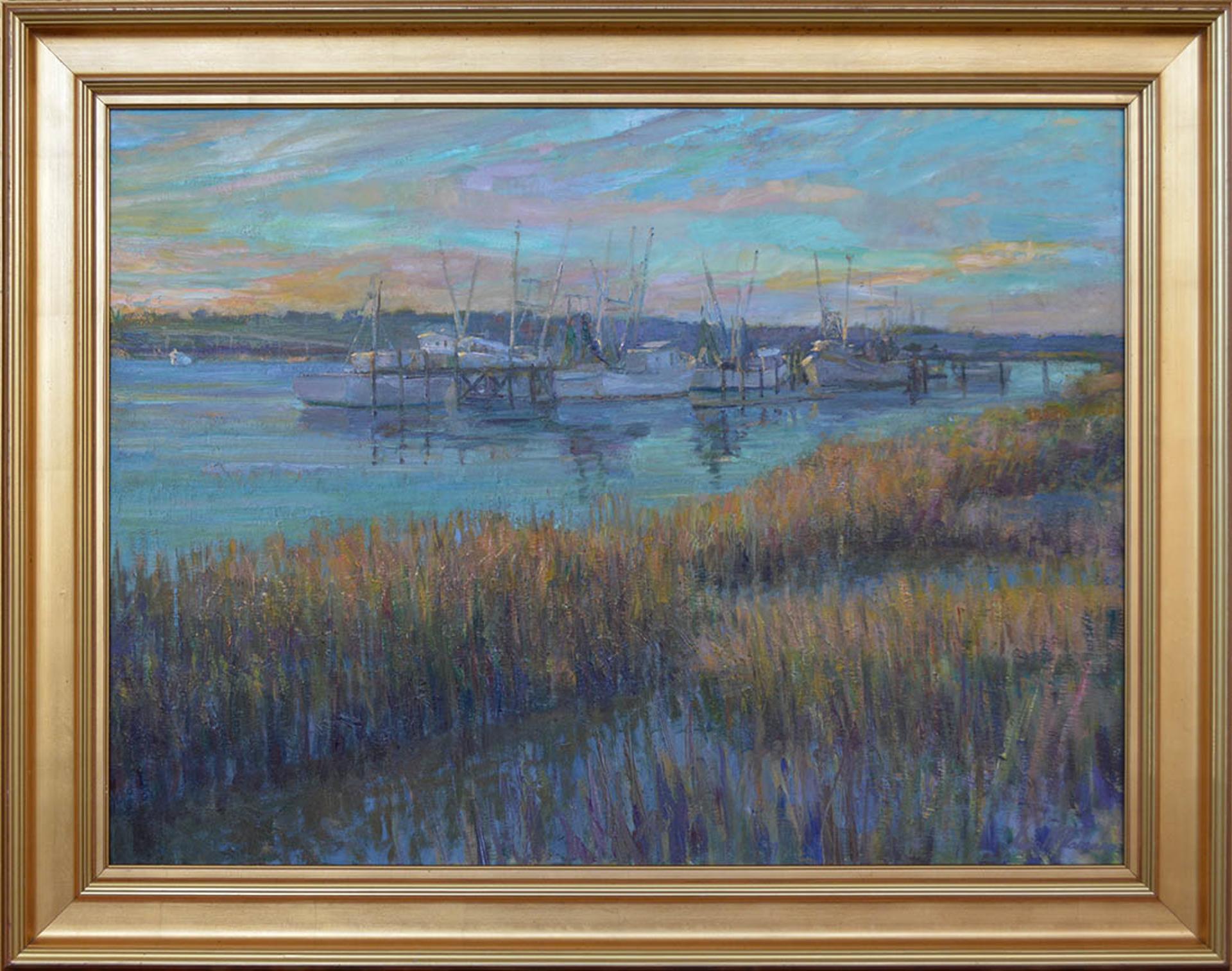 Boats at Port Royal by Kevin McNamara