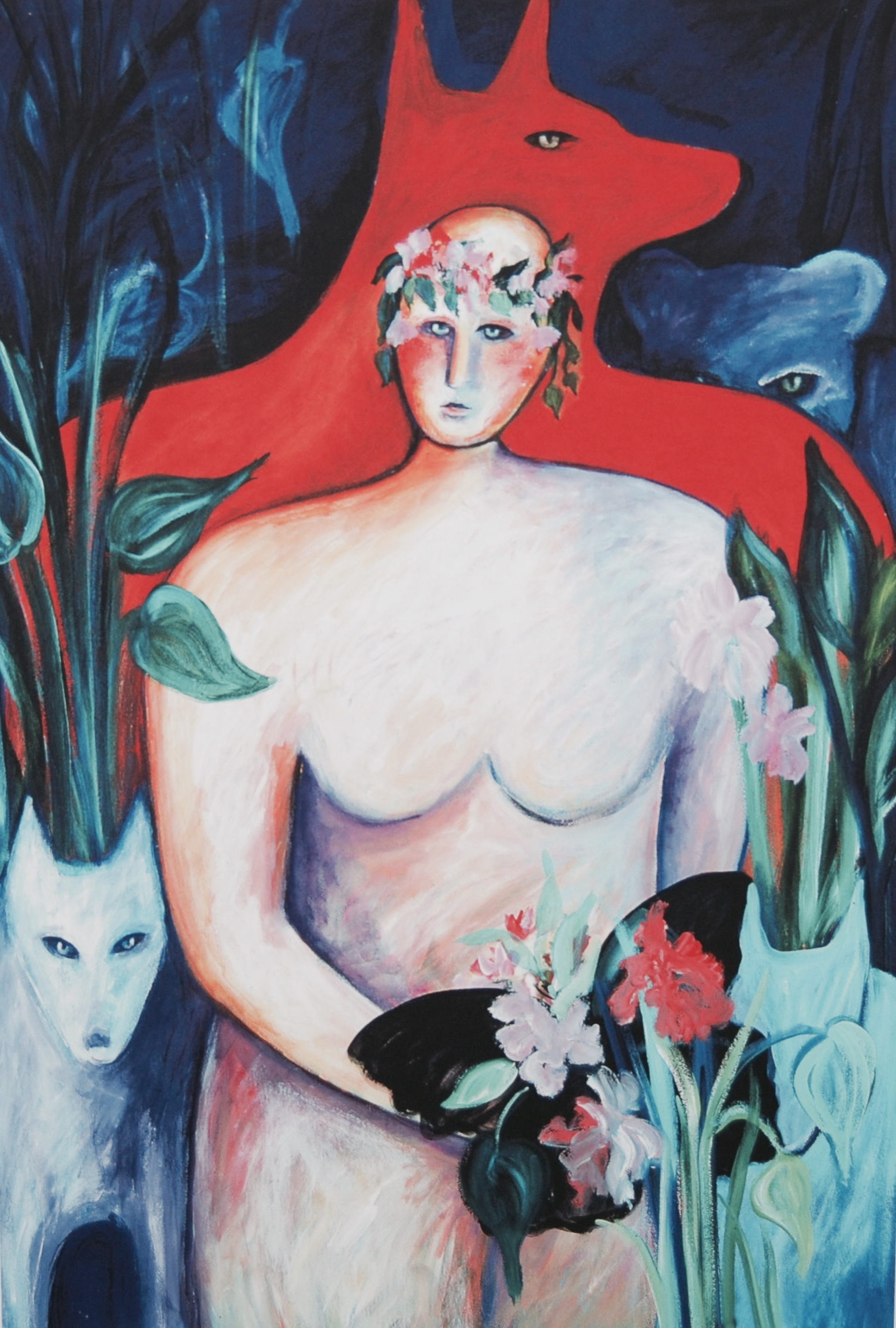 In the Garden - Unframed by Carole LaRoche