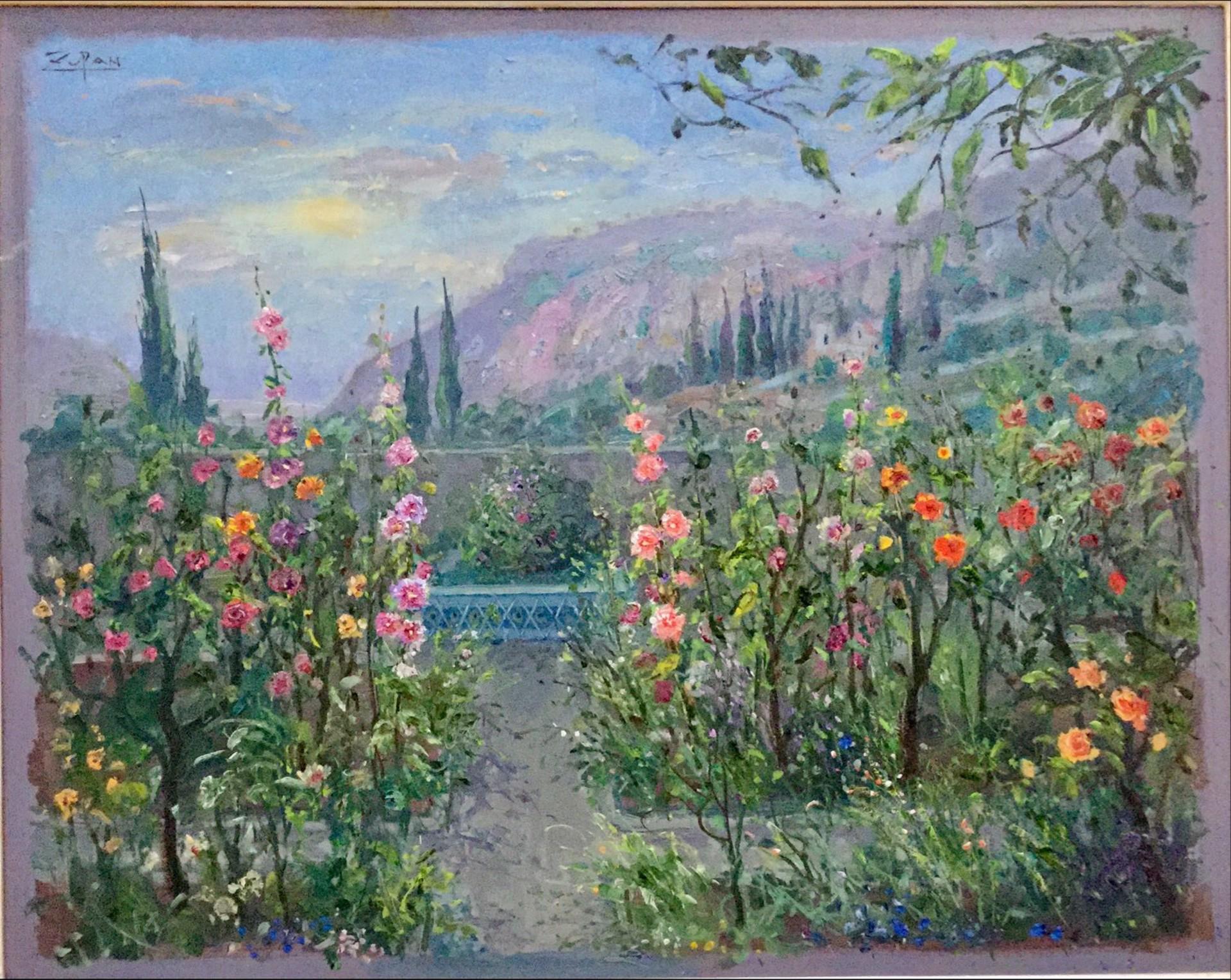 Summer In Chopin's Garden by Bruno Zupan