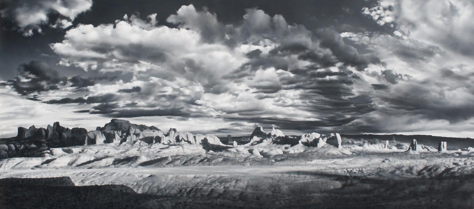 Desert Skyscape II by Patrick Kramer