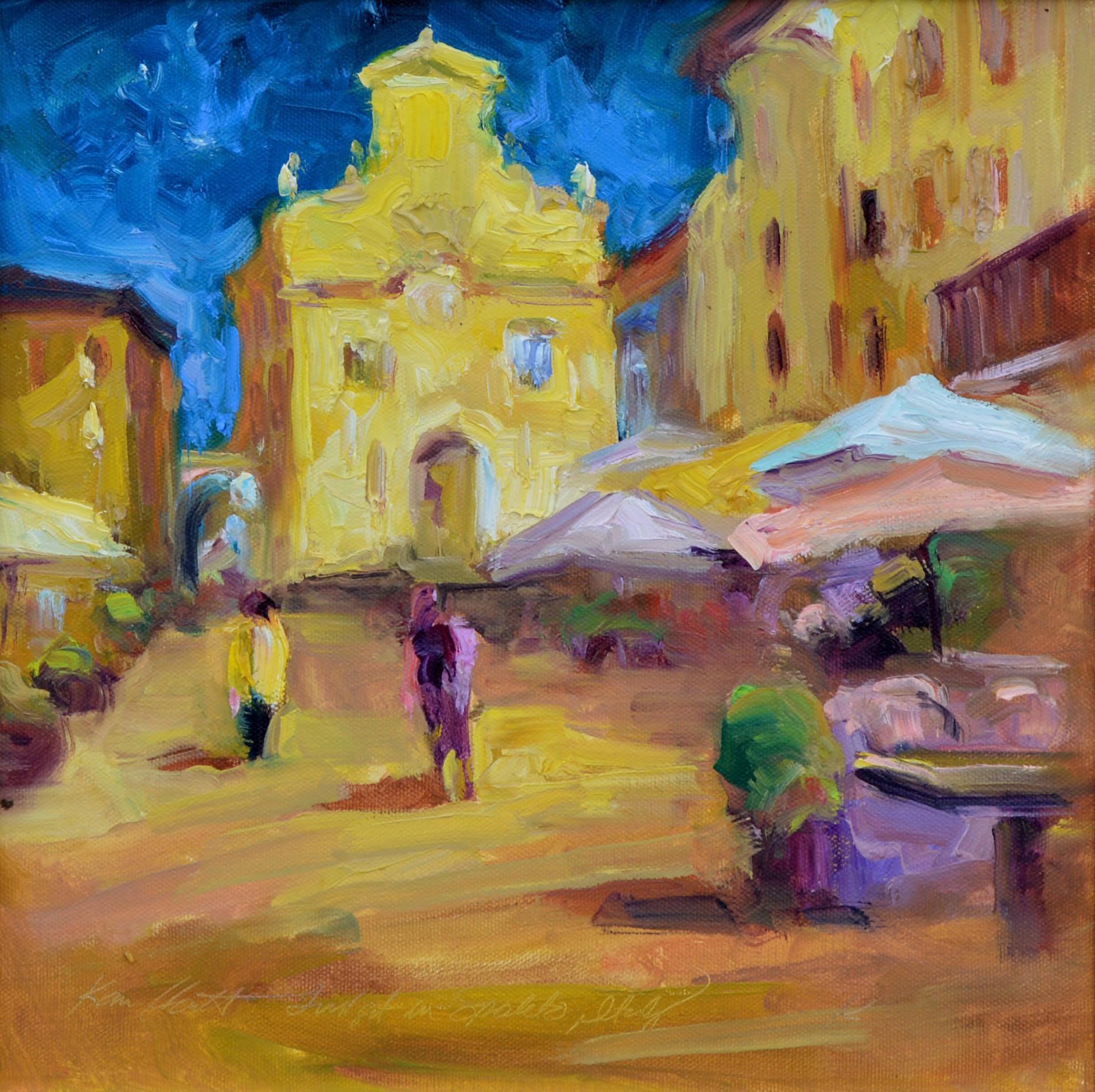 Twilight in Spoleto by Karen Hewitt Hagan
