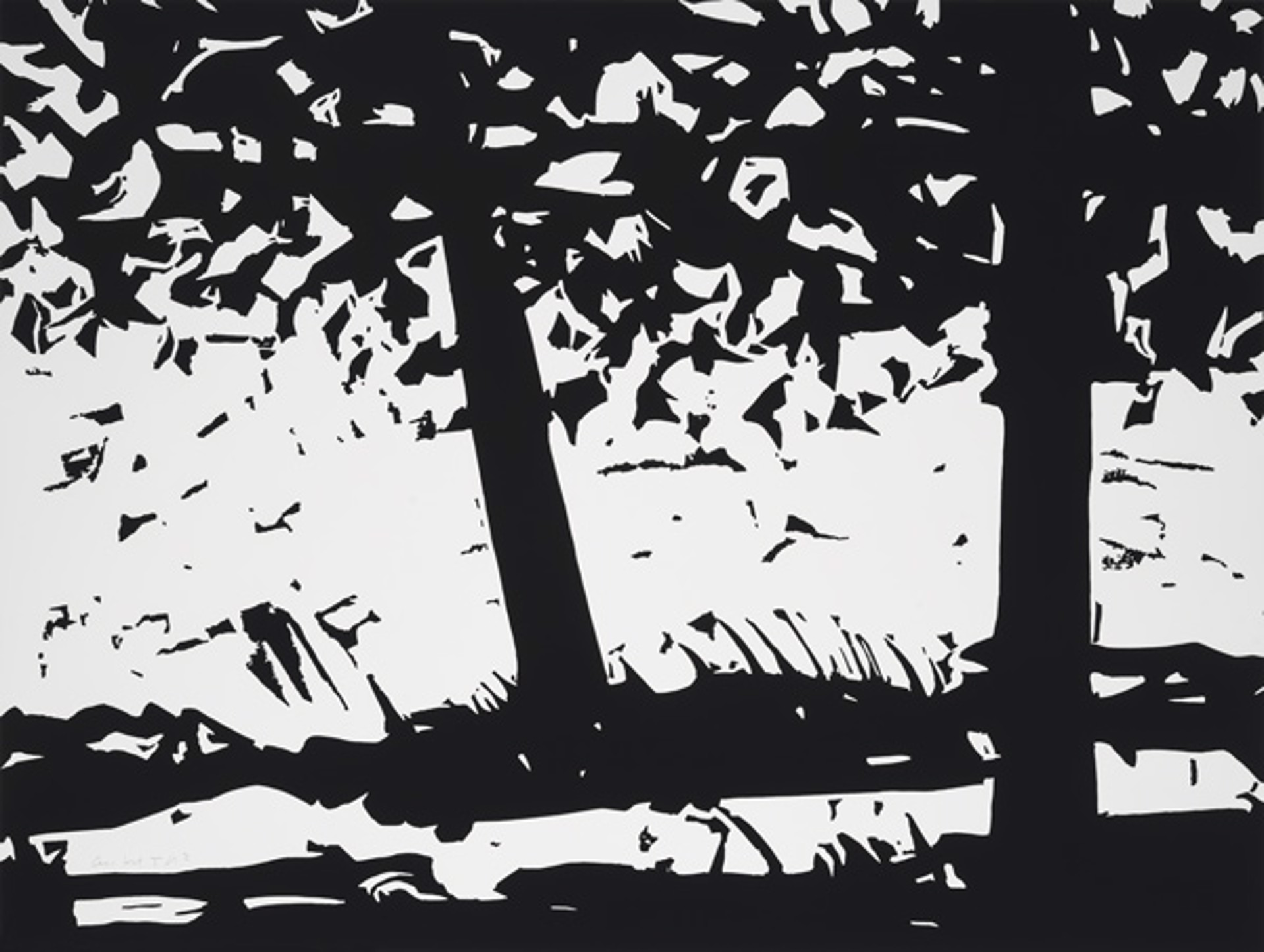 Maine Woods  by Alex Katz