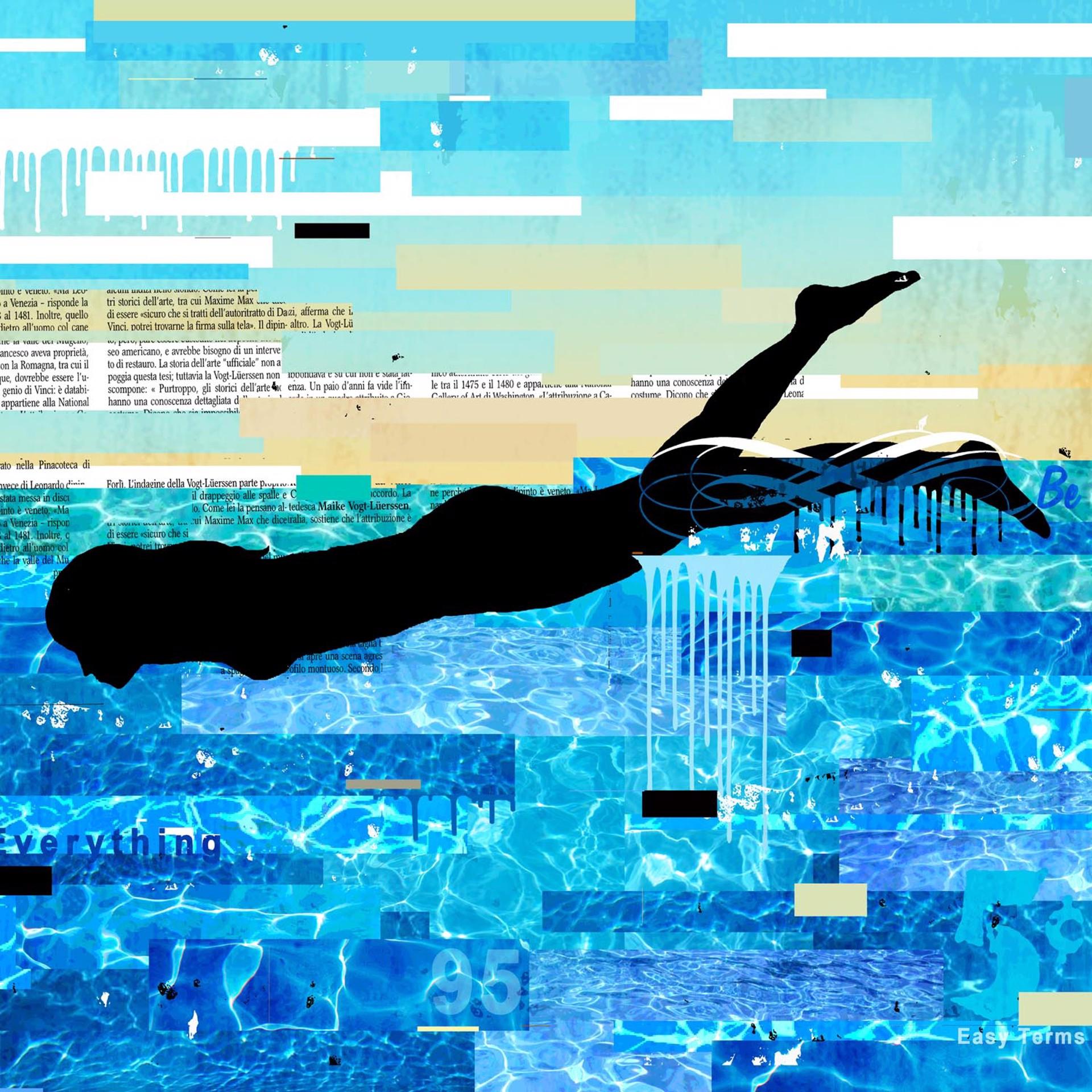 Swimmer by Mark Andrew Allen