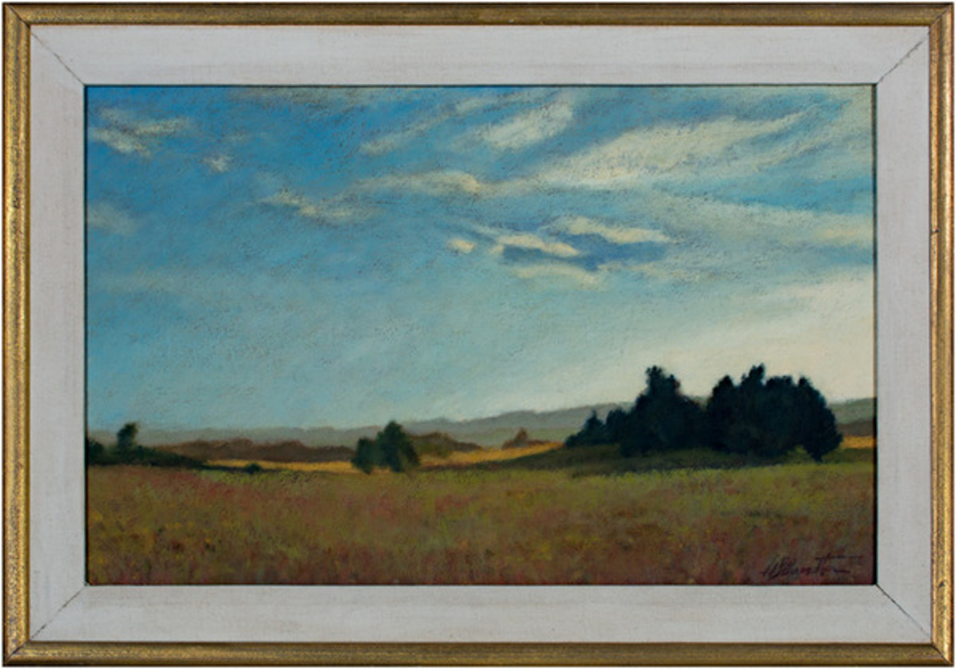 Landscape Near Amherst by Howard Schroedter