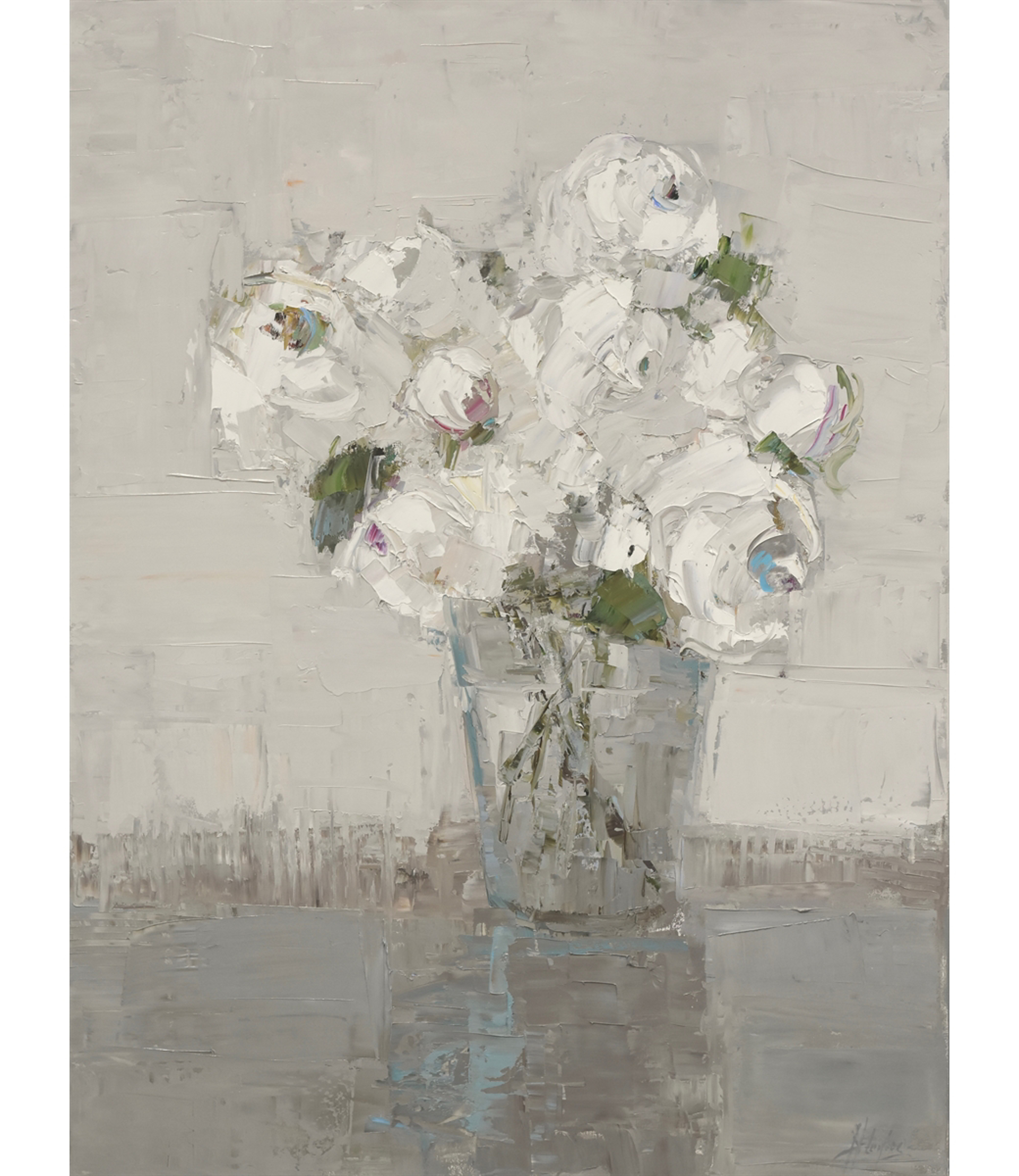 White Bouquet, White Room by Barbara Flowers