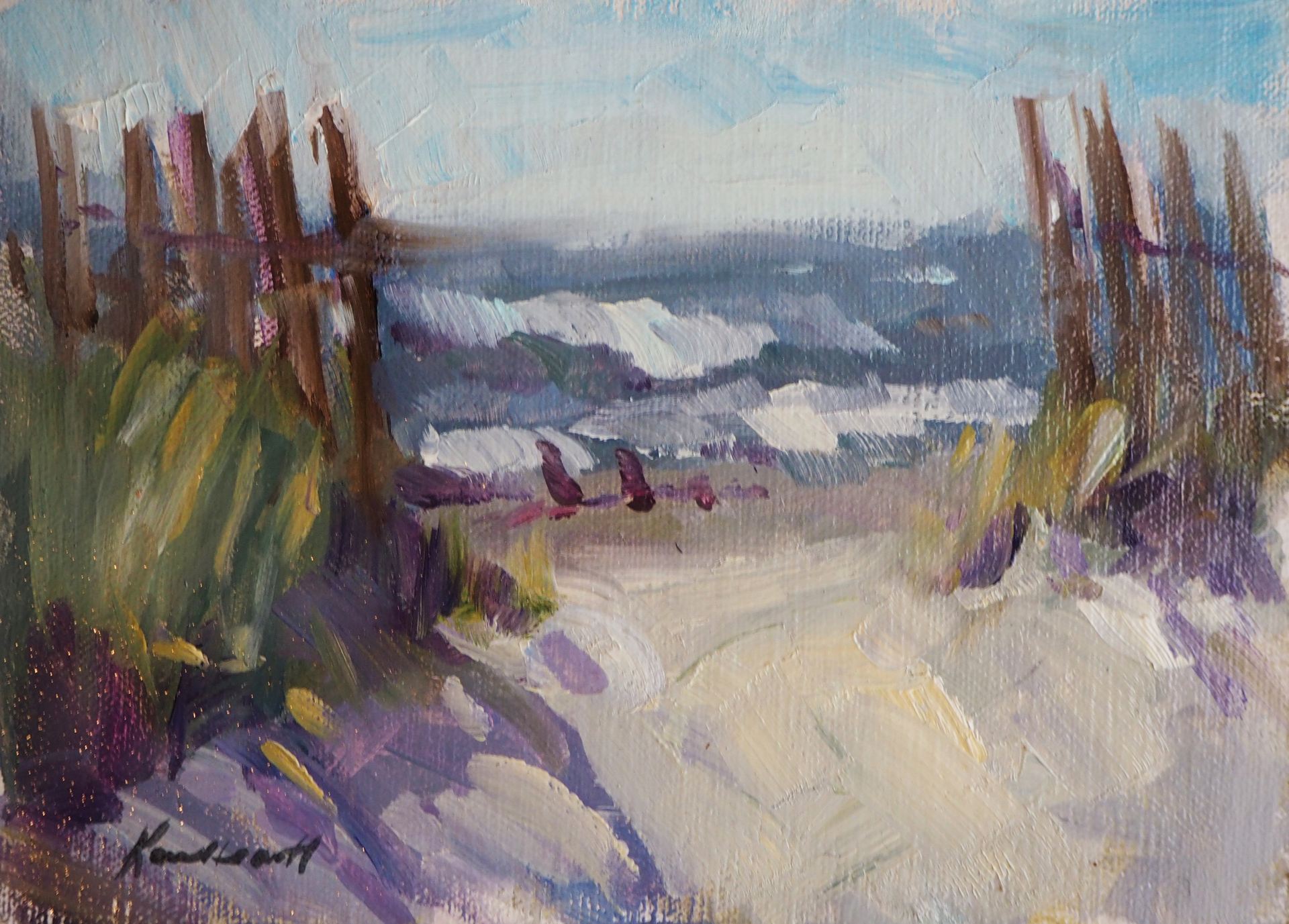 Sea View by Karen Hewitt Hagan