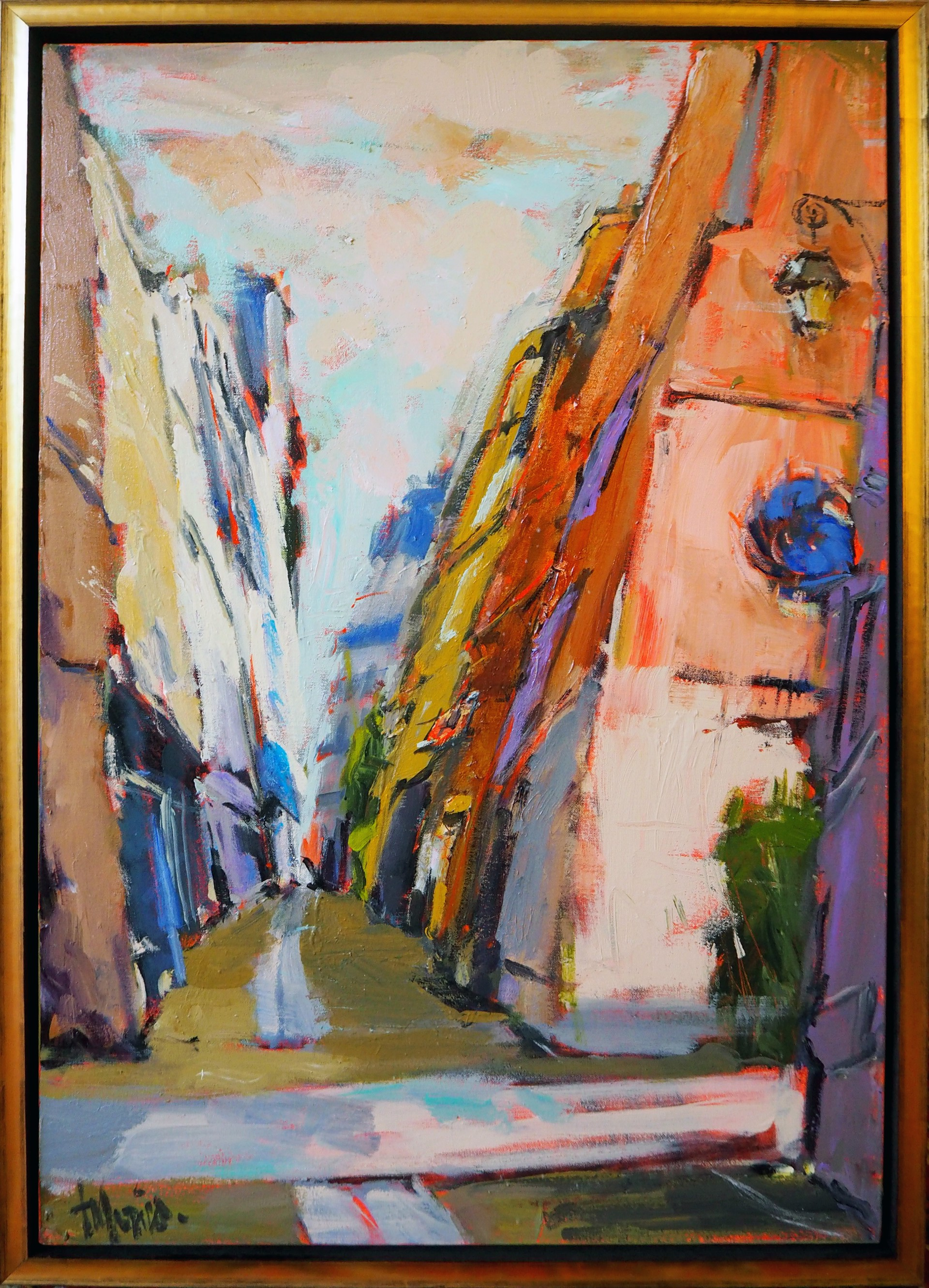 Rue de l'Echaudé by Donna Talerico