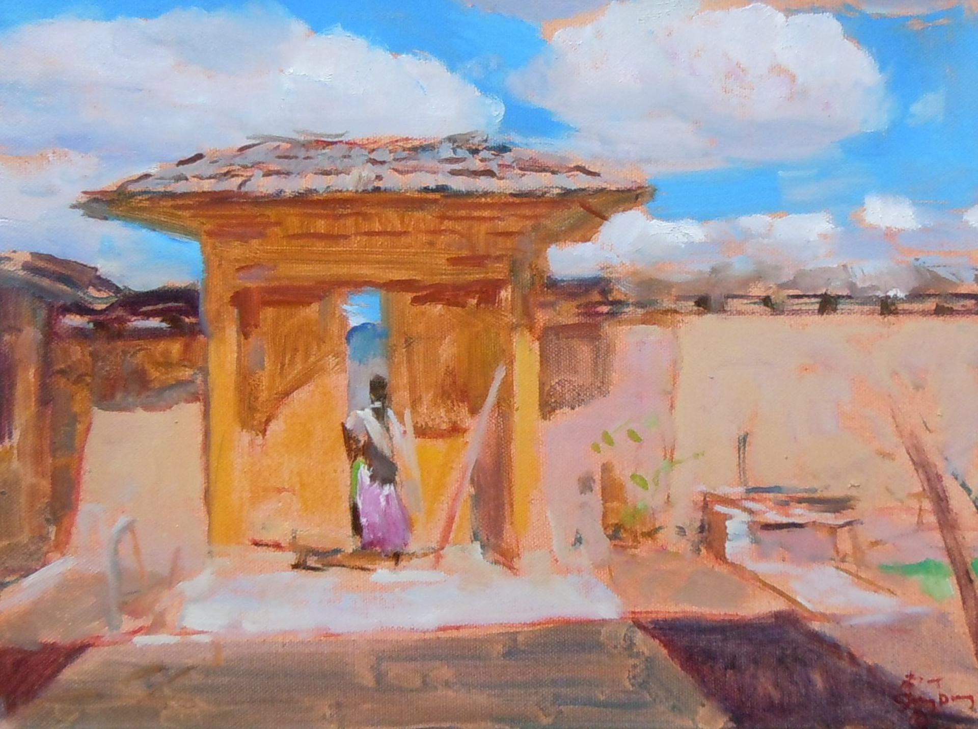 Shangri-La Study 2 by Shang Ding
