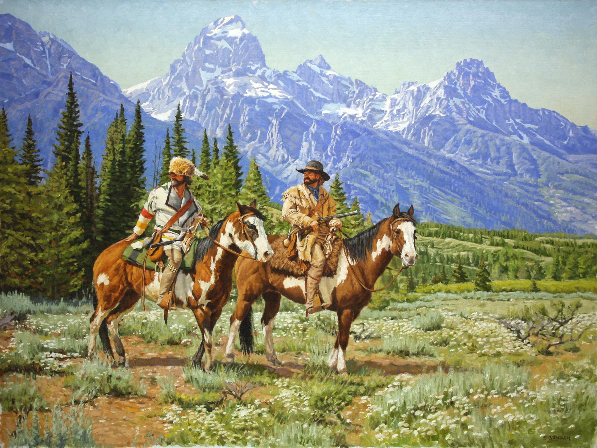 Teton Valley 1832 by Barry Eisenach